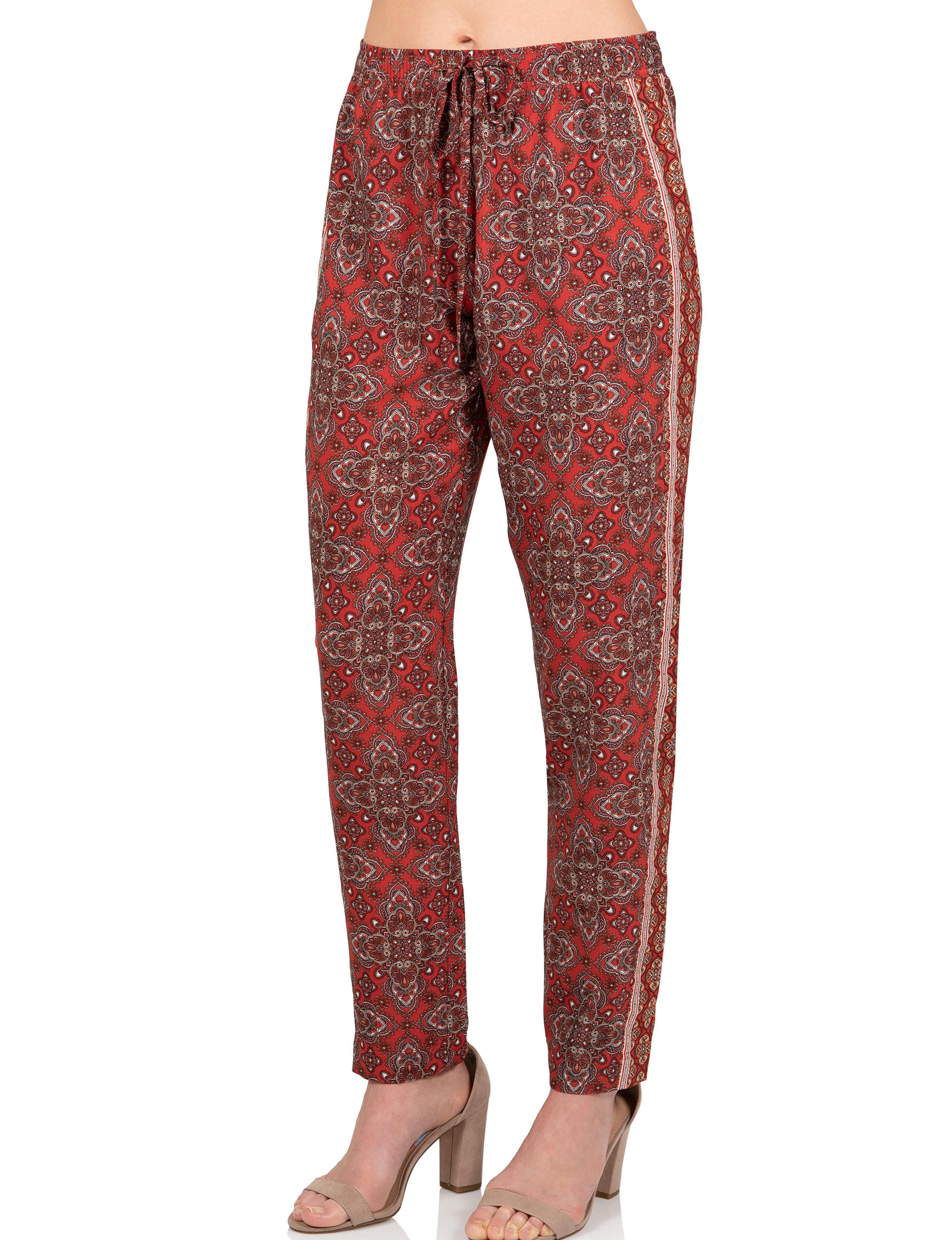 Skyes The Limit Red Multi Soft Pants