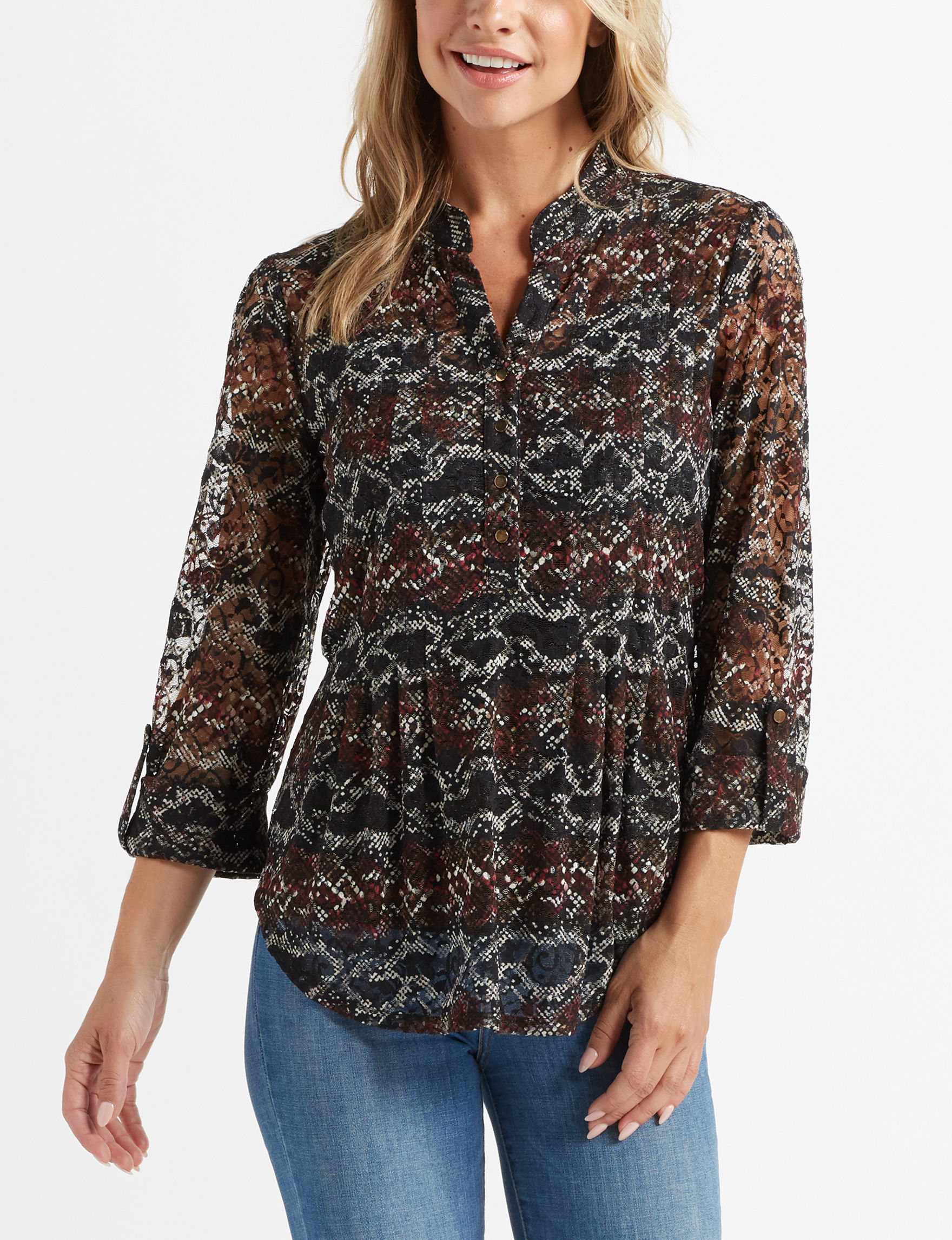 Cocomo Black Shirts & Blouses