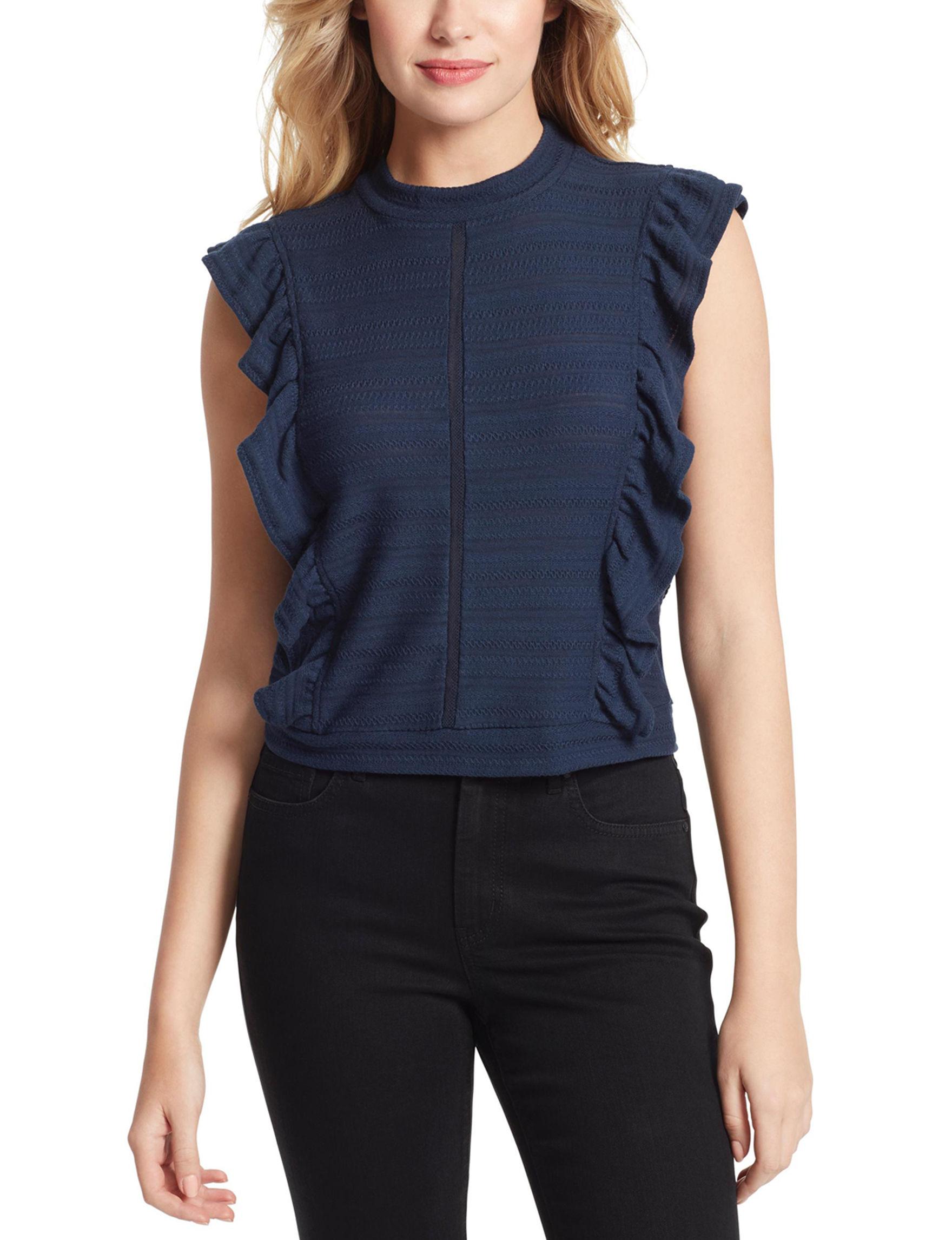 Jessica Simpson Navy Shirts & Blouses