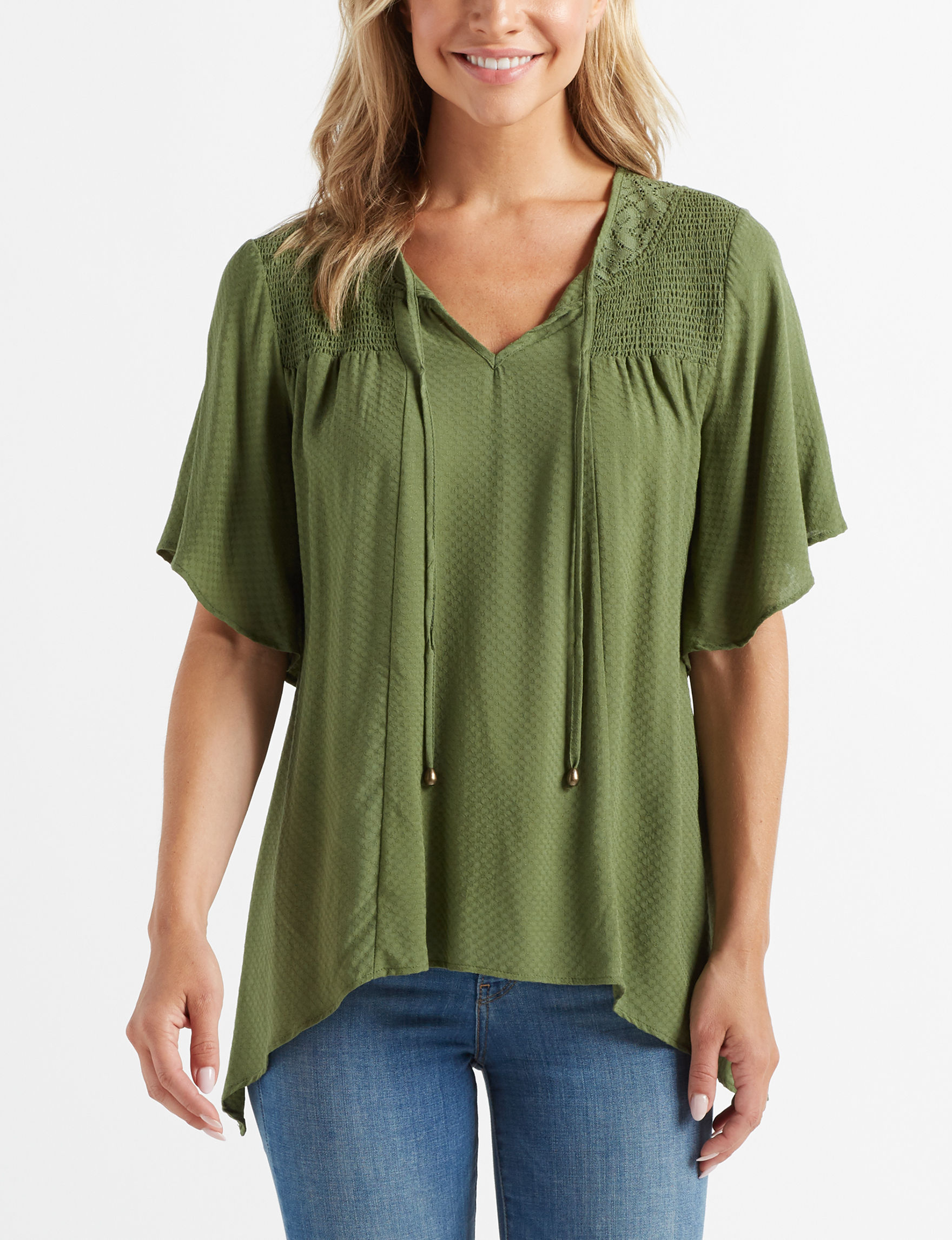 Energie Olive Shirts & Blouses