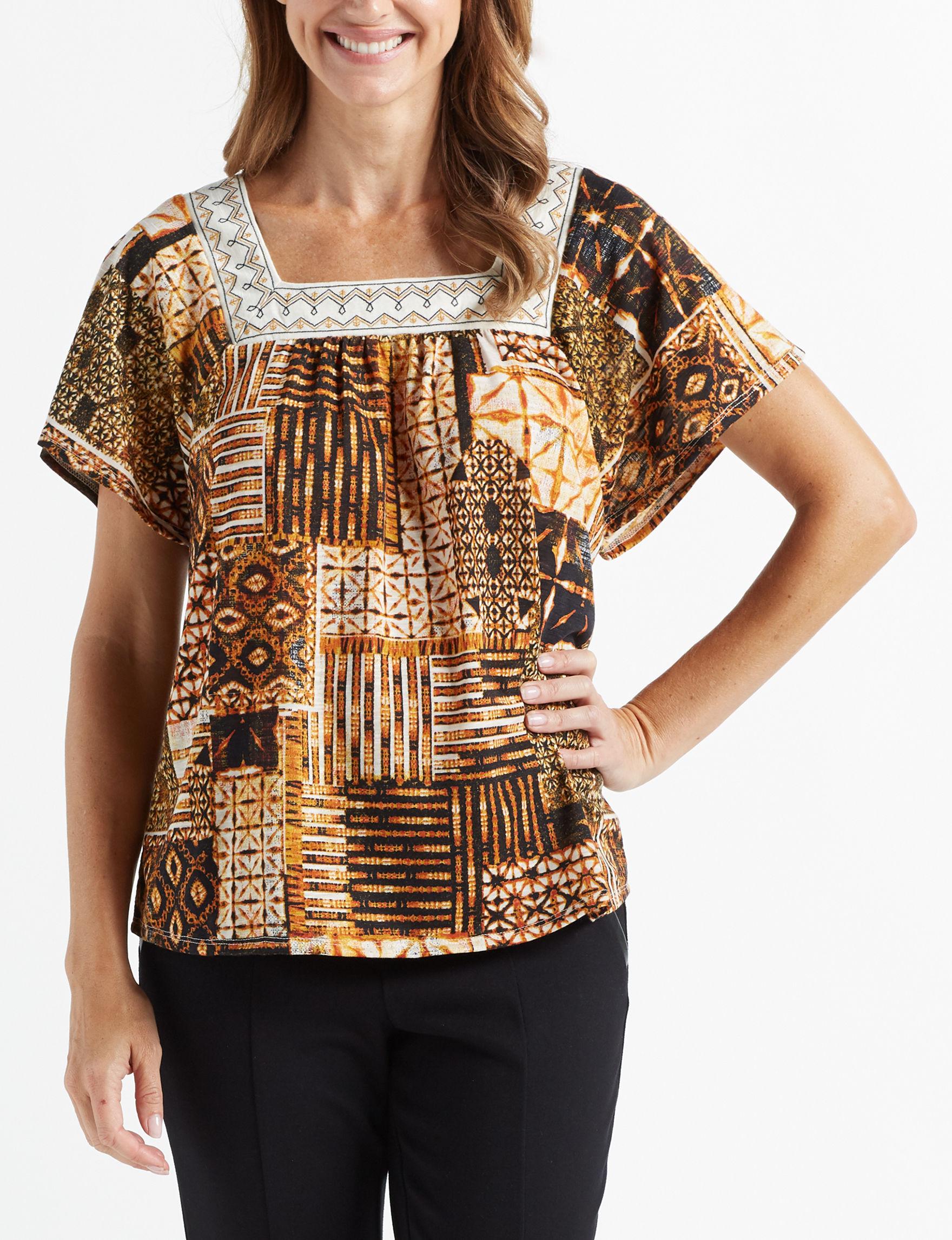 Isela Beige Shirts & Blouses