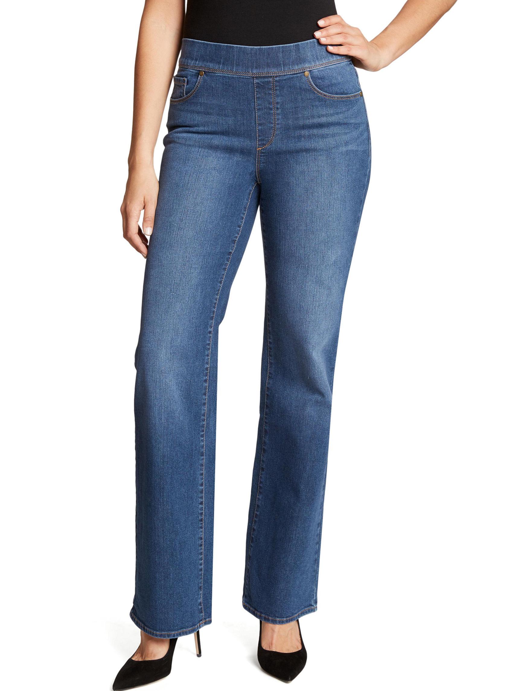 Gloria Vanderbilt Blue Wide Leg