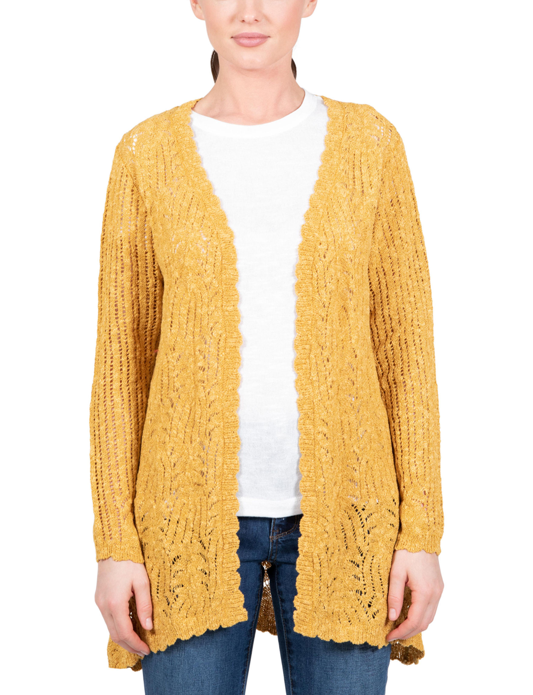 Skyes The Limit Marigold Cardigans
