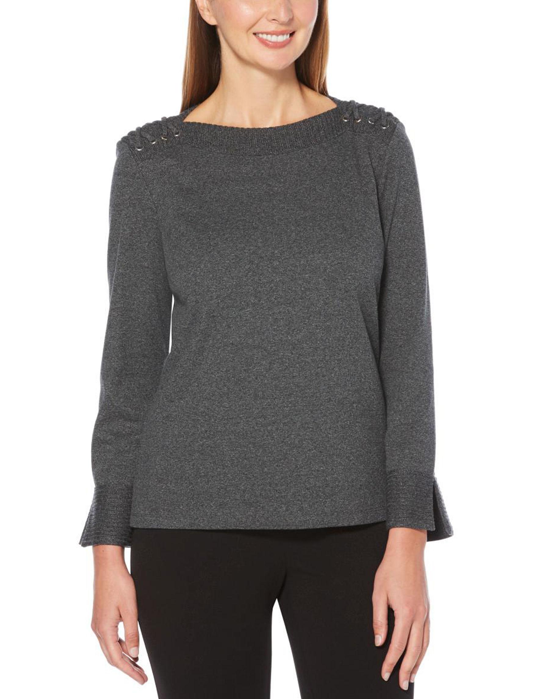 Rafaella Charcoal Shirts & Blouses
