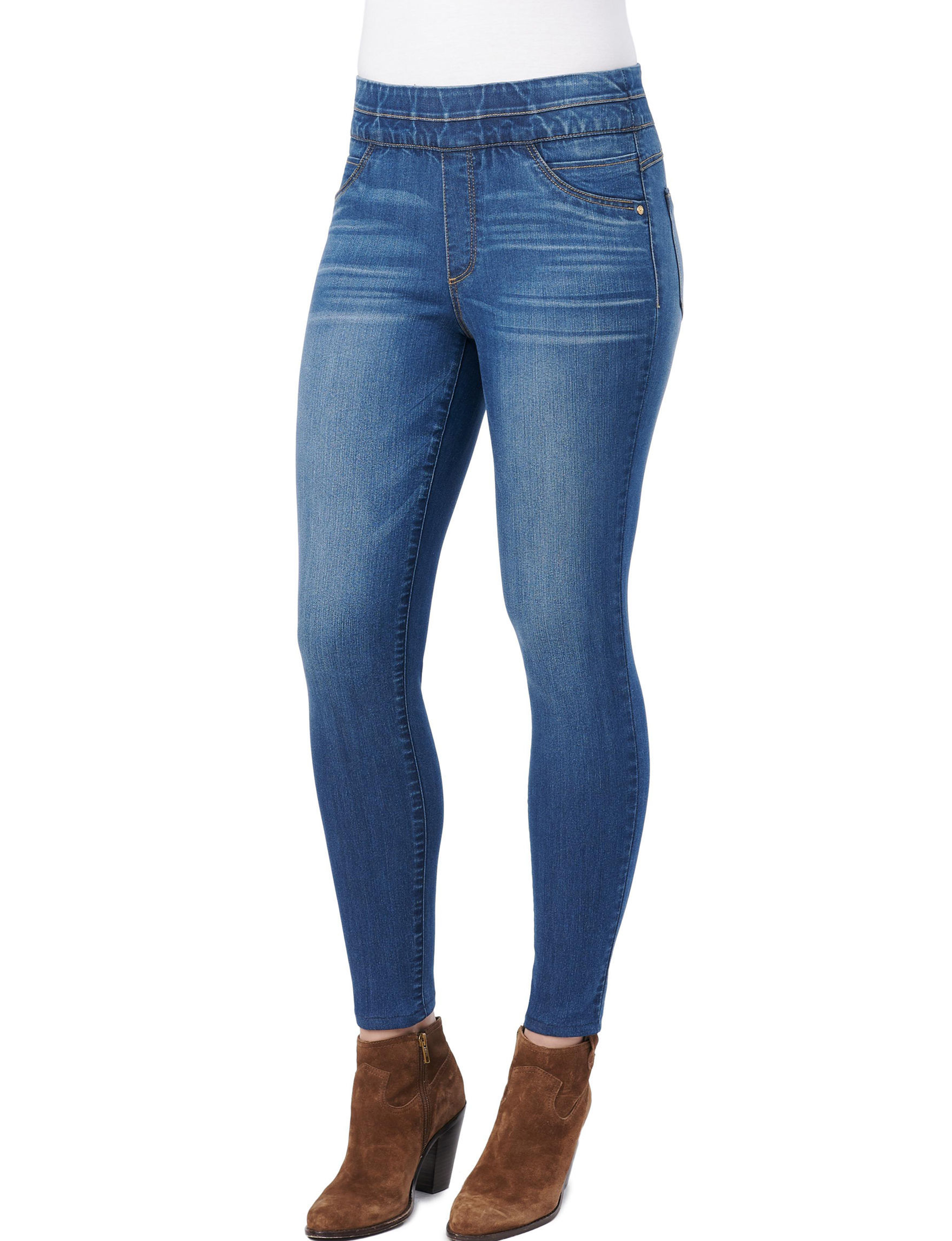 Democracy Blue Jeggings Skinny Stretch
