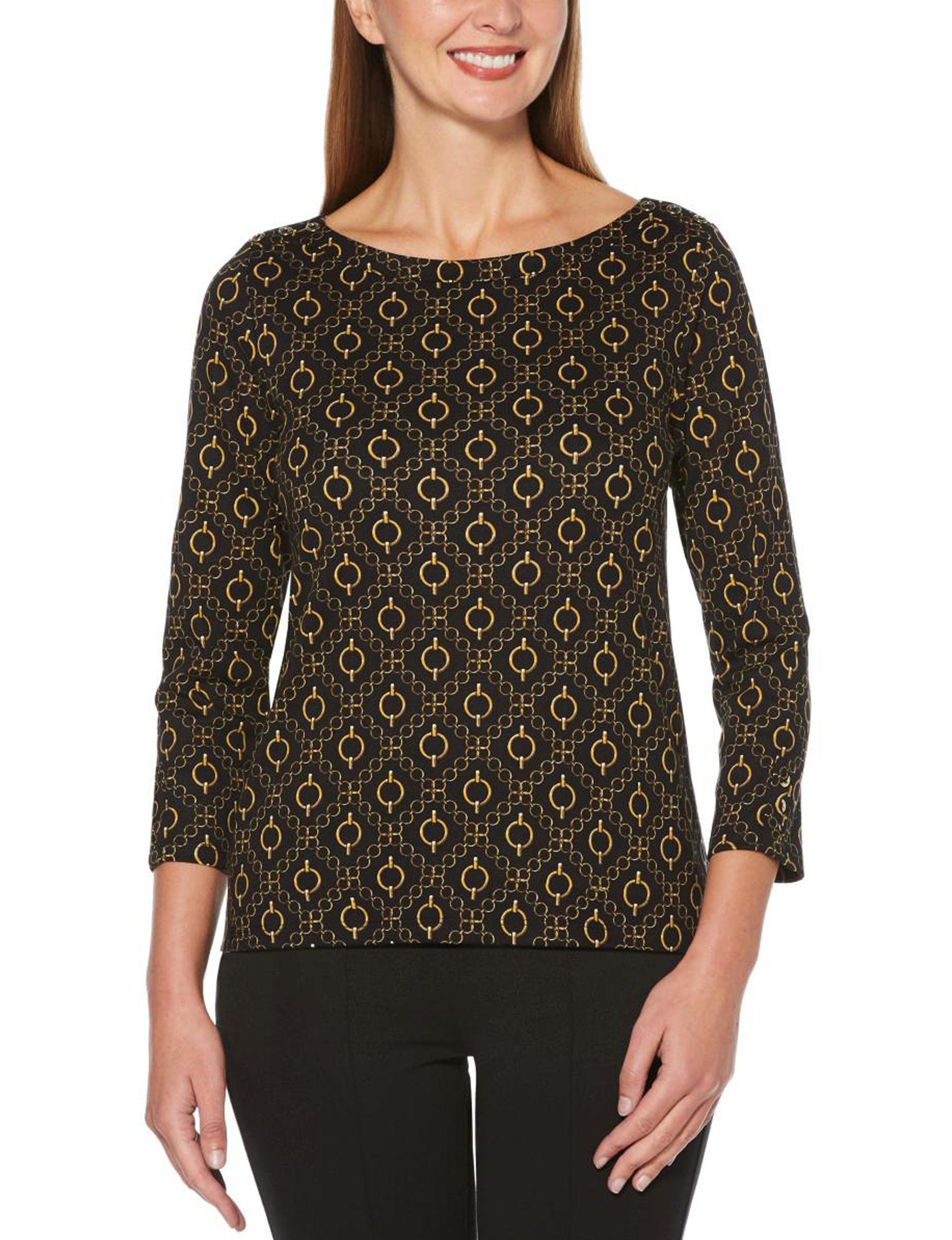 Rafaella Black Shirts & Blouses