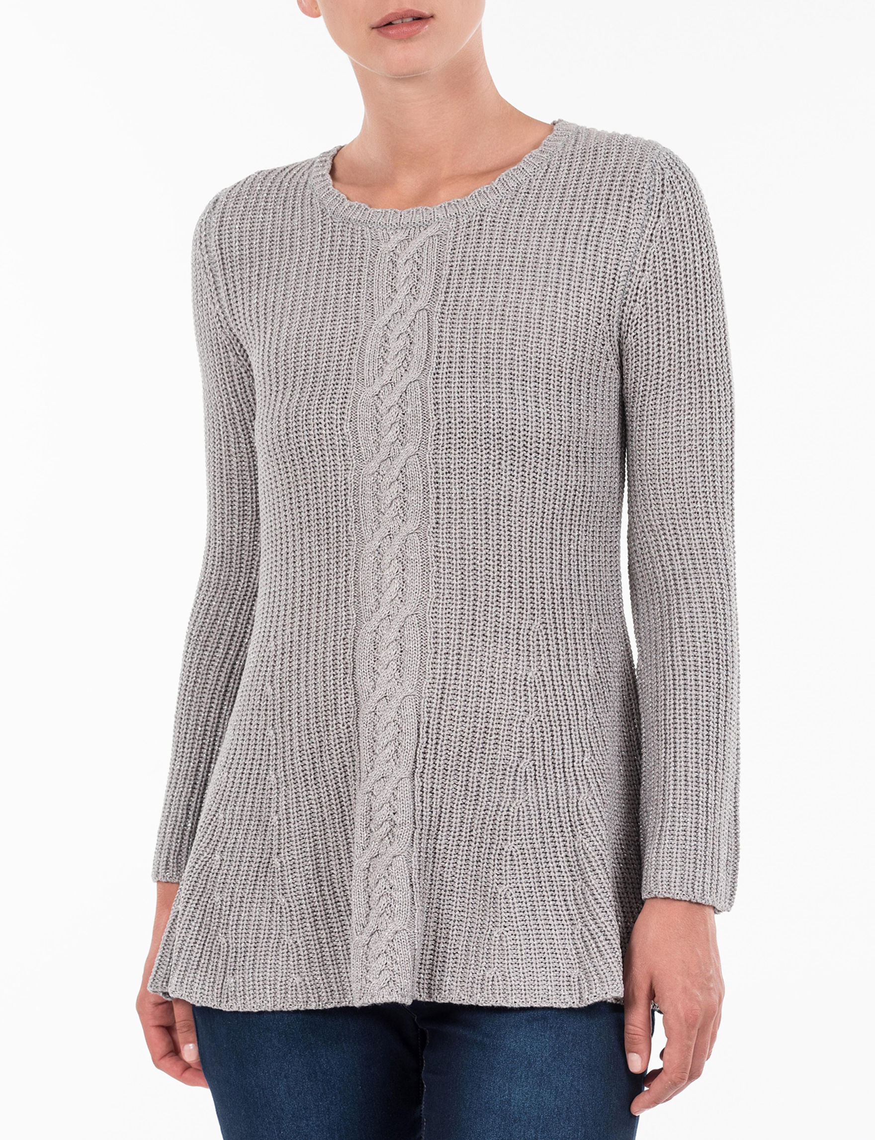 Skyes The Limit Heather Grey Pull-overs