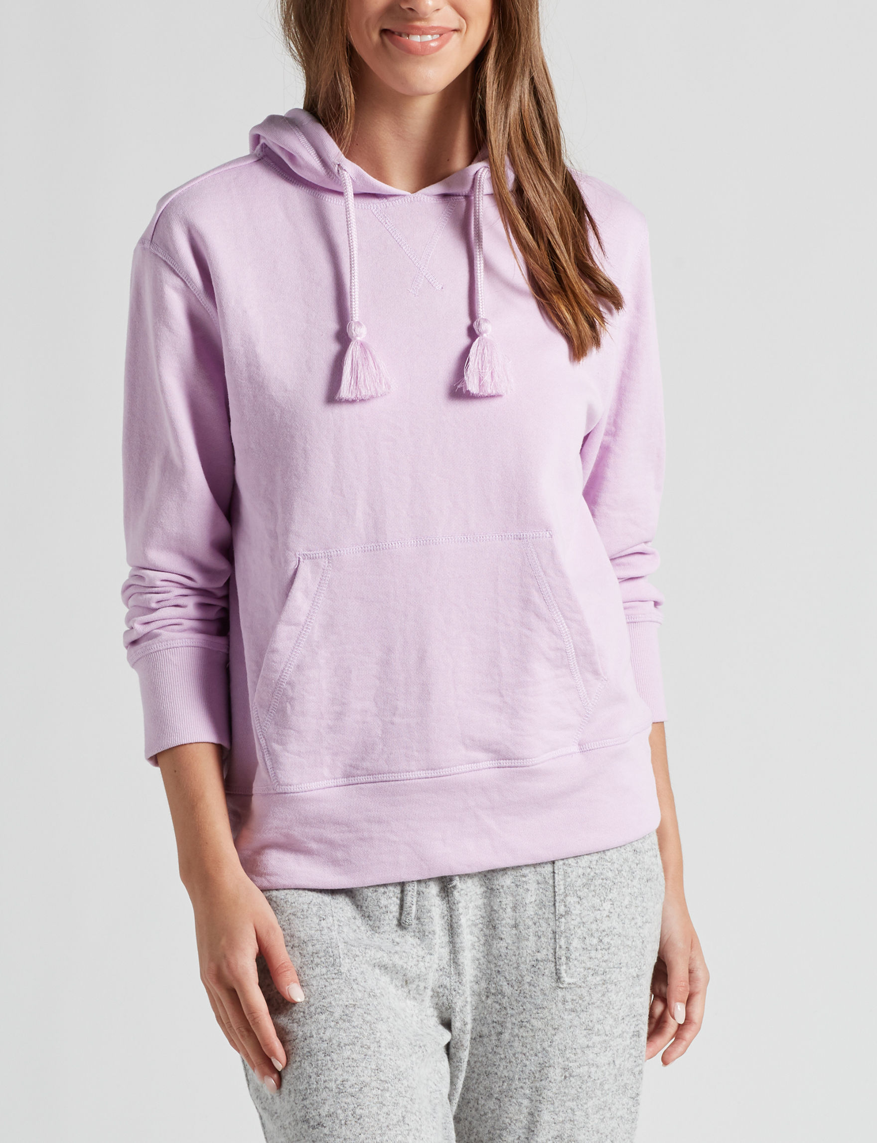 Signature Studio Lavender Pull-overs Shirts & Blouses