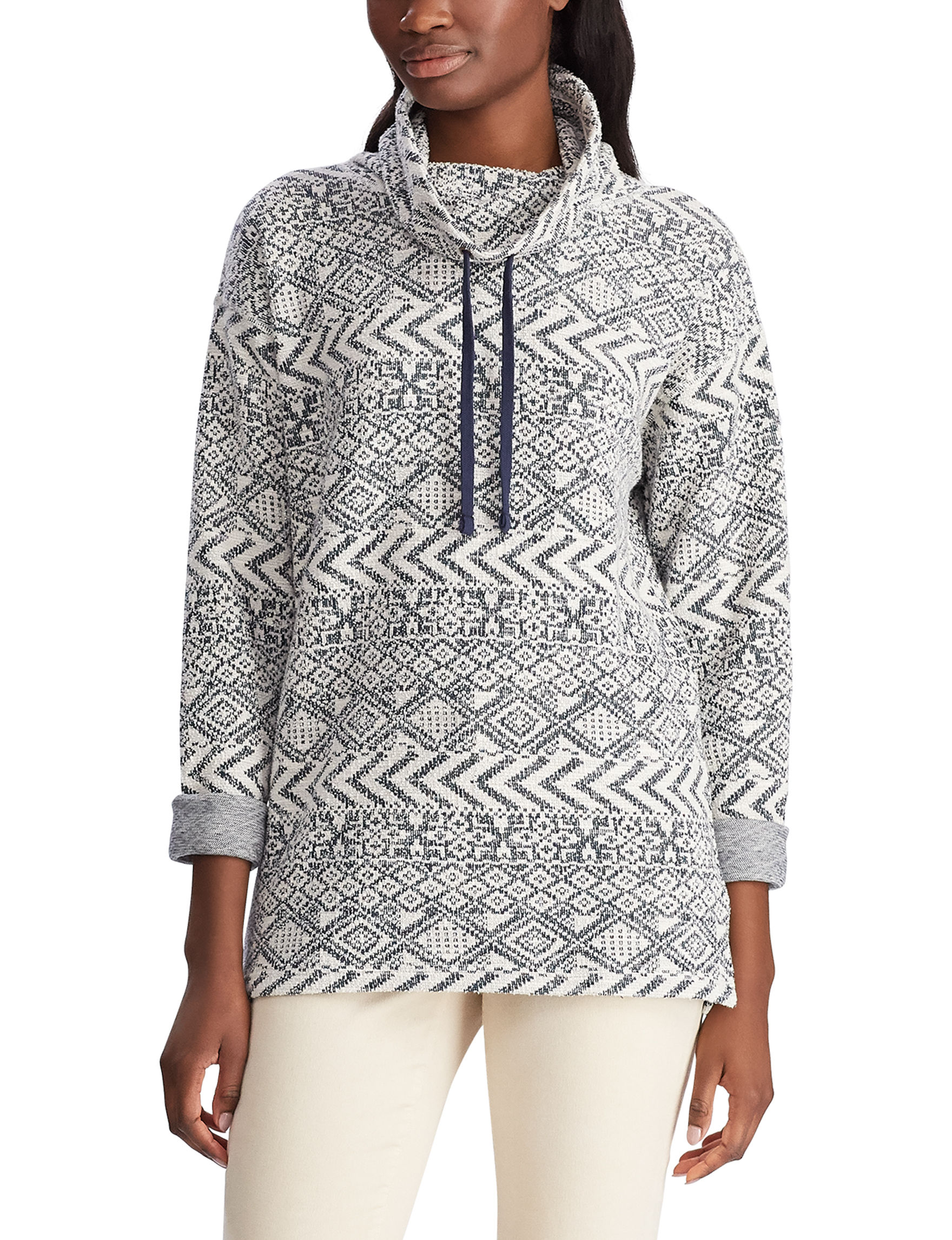 Chaps White / Multi Pull-overs
