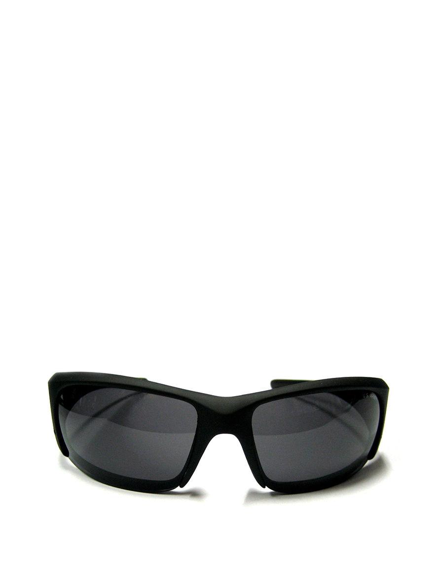 U.S. Army Men's Matte Sunglasses - Black - Licensed