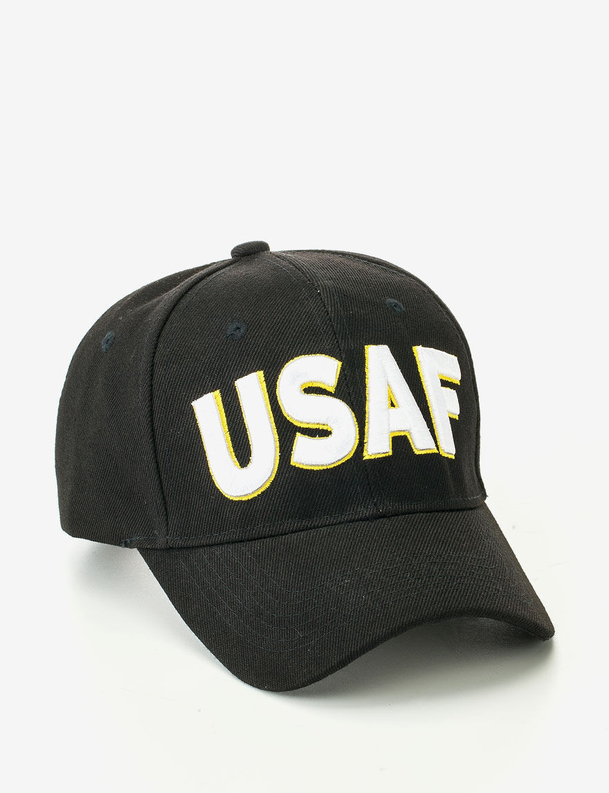 7826a977934 U.S. Air Force Dark Blue Raised Block Lettering USAF Cap