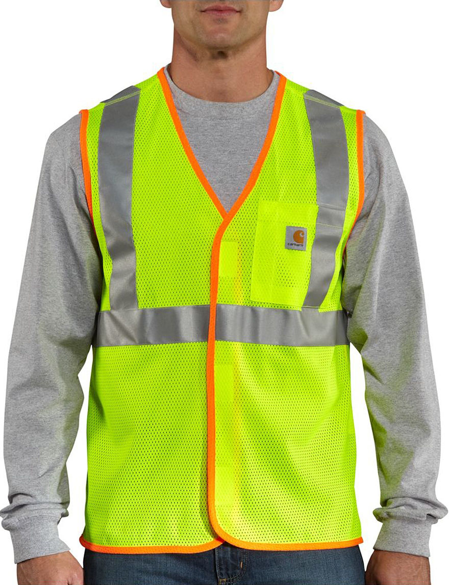 Carhartt Lime Vests High Visibility