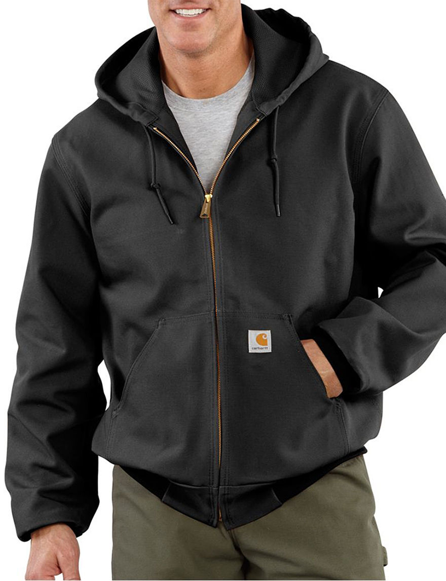 Carhartt Black Fleece & Soft Shell Jackets