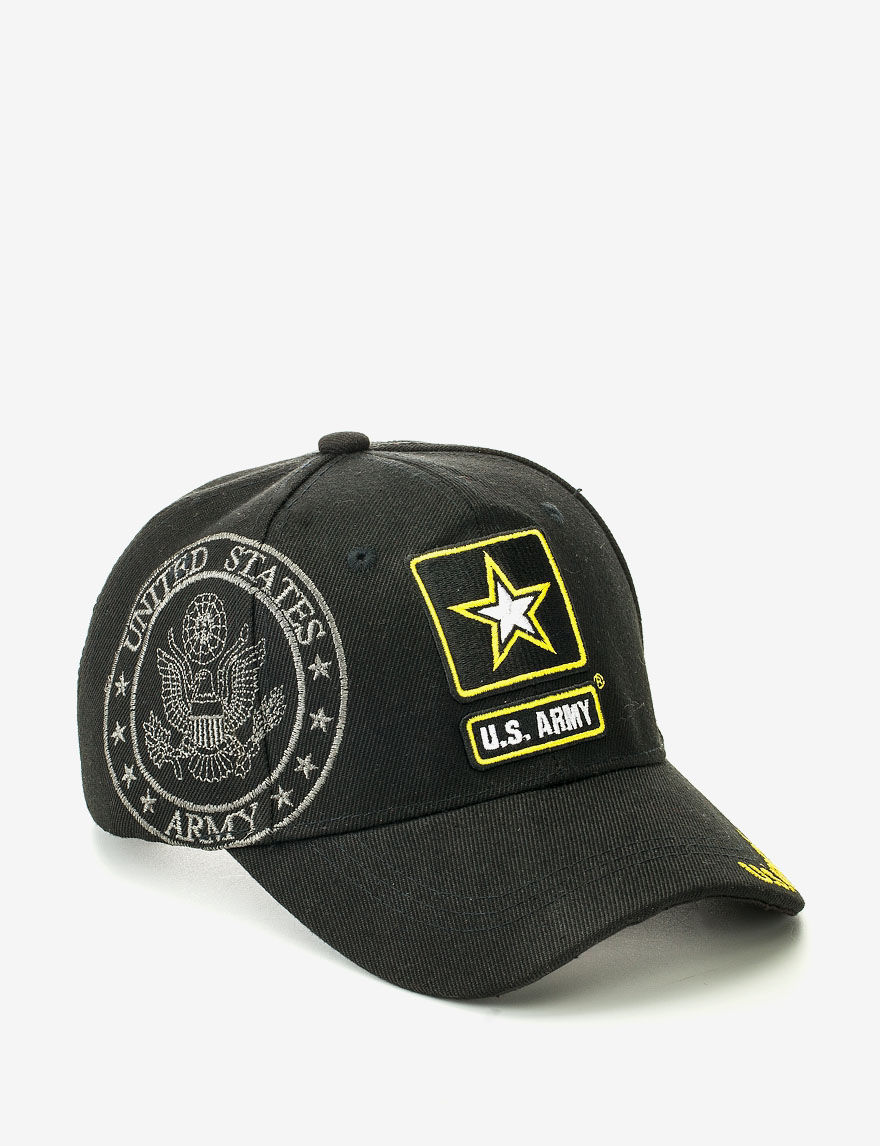 Licensed Black Hats & Headwear