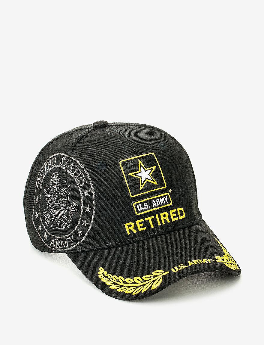 Licensed Black Hats & Headwear