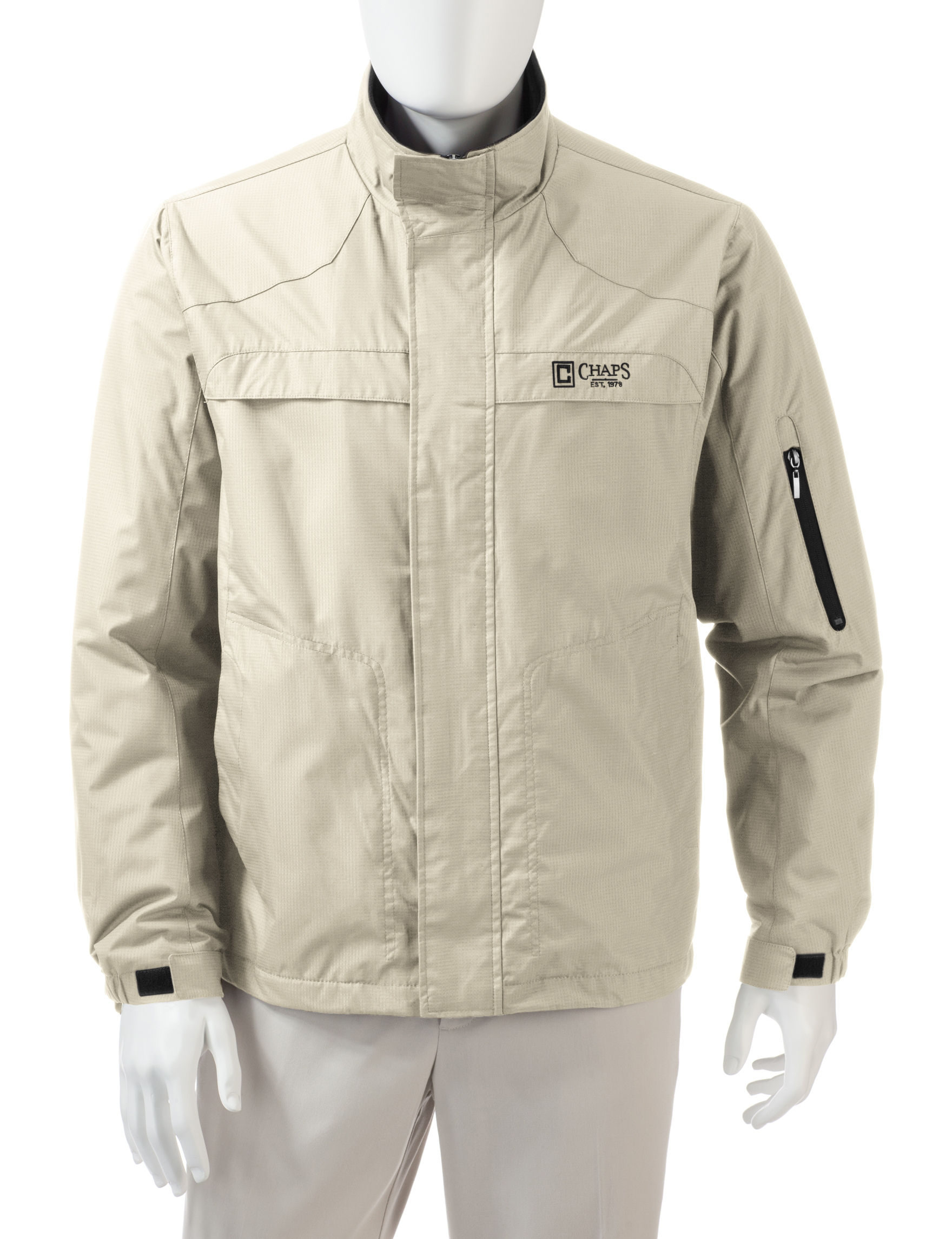 Chaps Beige Insulated Jackets