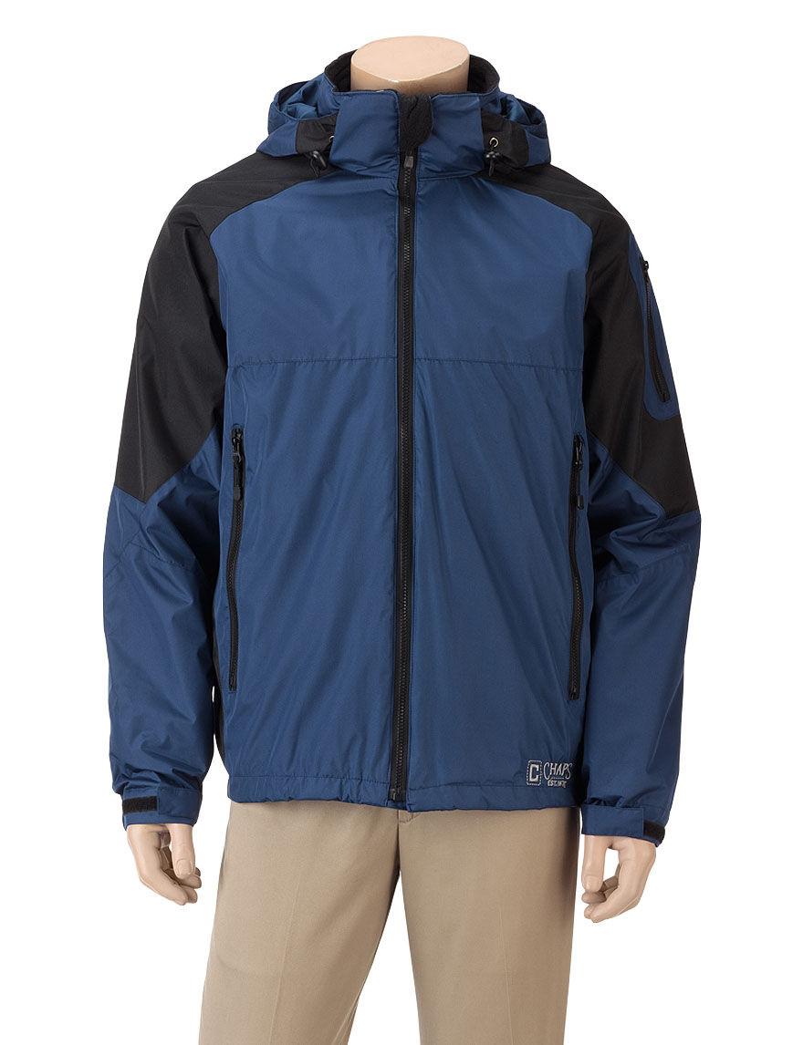 Chaps Navy Fleece & Soft Shell Jackets