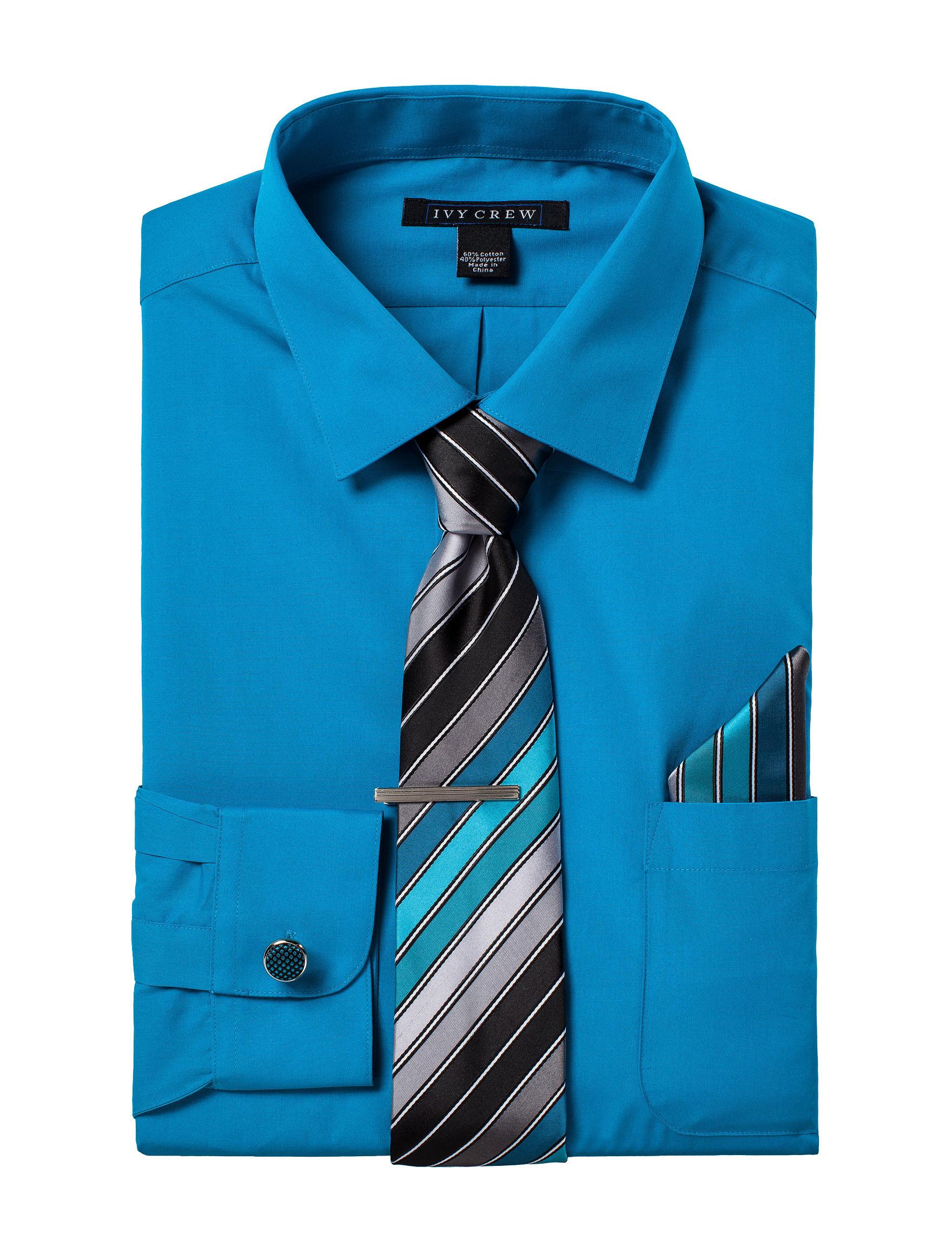 Ivy Crew Medium Blue Dress Shirts