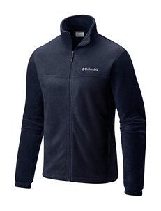 73abed6b40b2a Columbia Navy Fleece   Soft Shell Jackets Lightweight Jackets   Blazers
