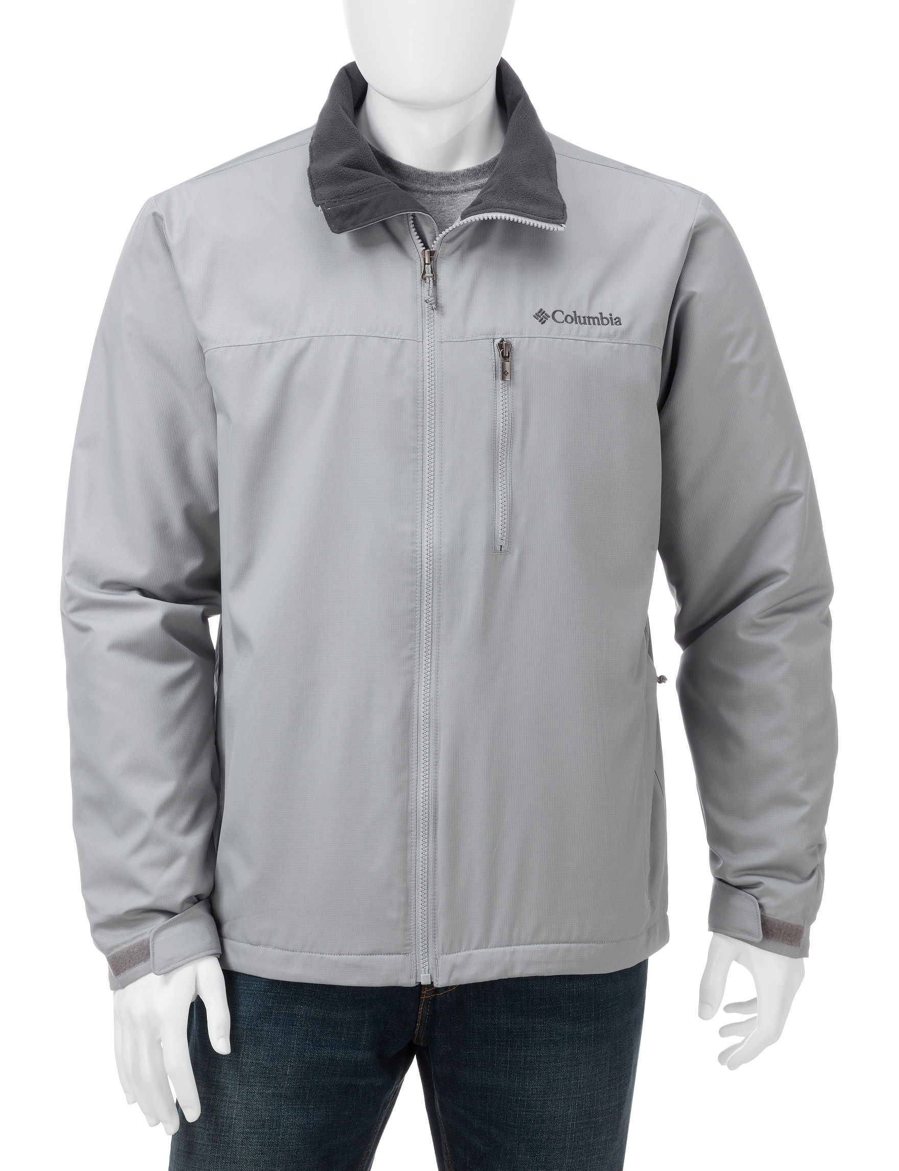 Columbia Medium Grey Insulated Jackets