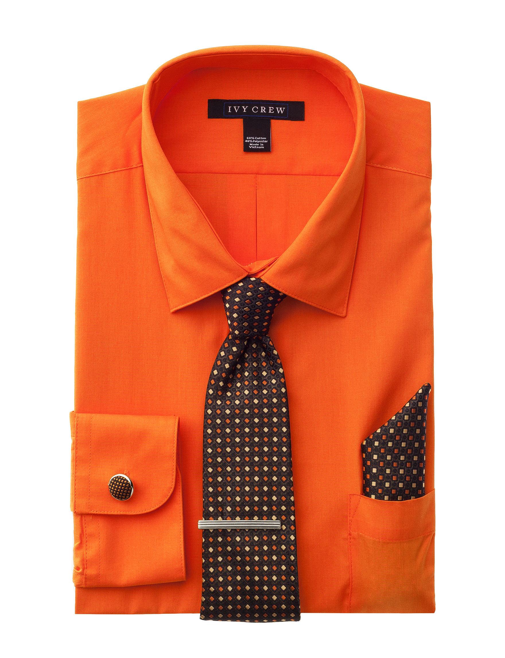 Ivy Crew Mandarin Dress Shirts
