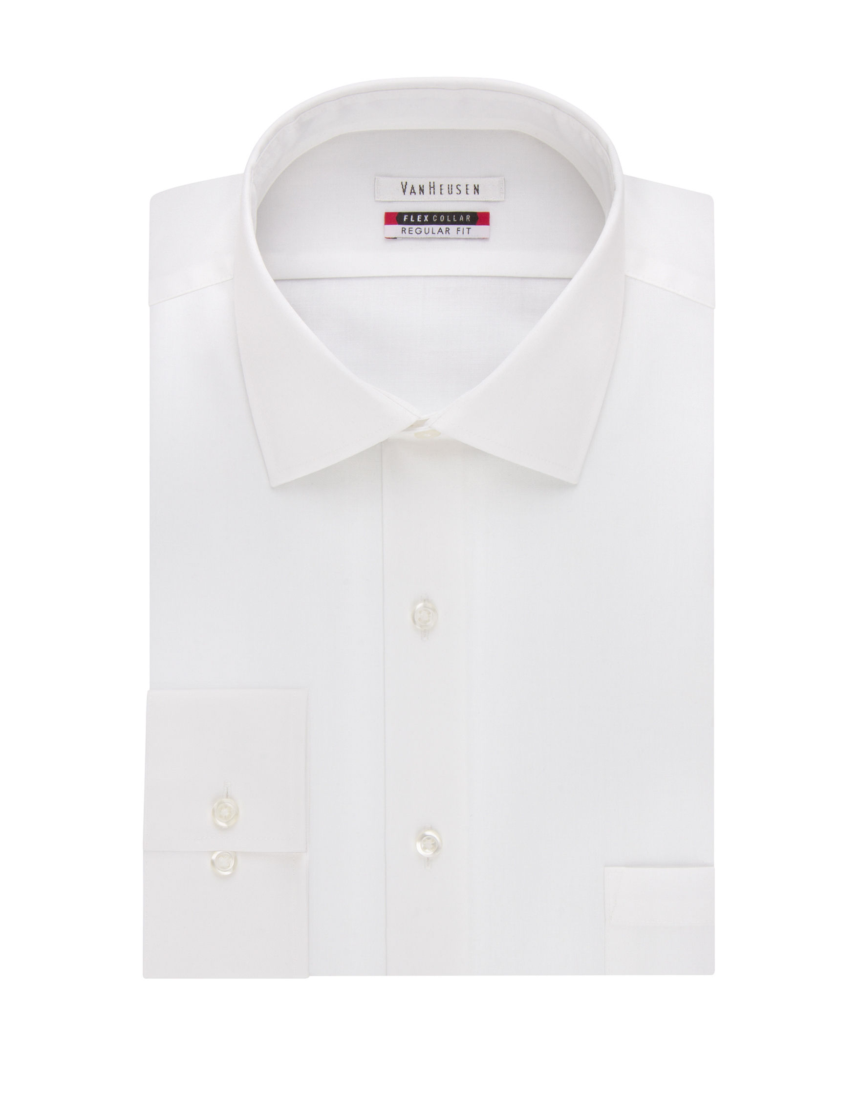 Van Heusen White Dress Shirts
