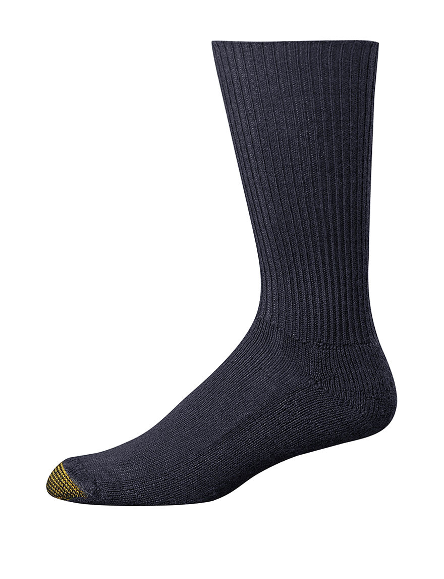 Gold Toe Navy Socks