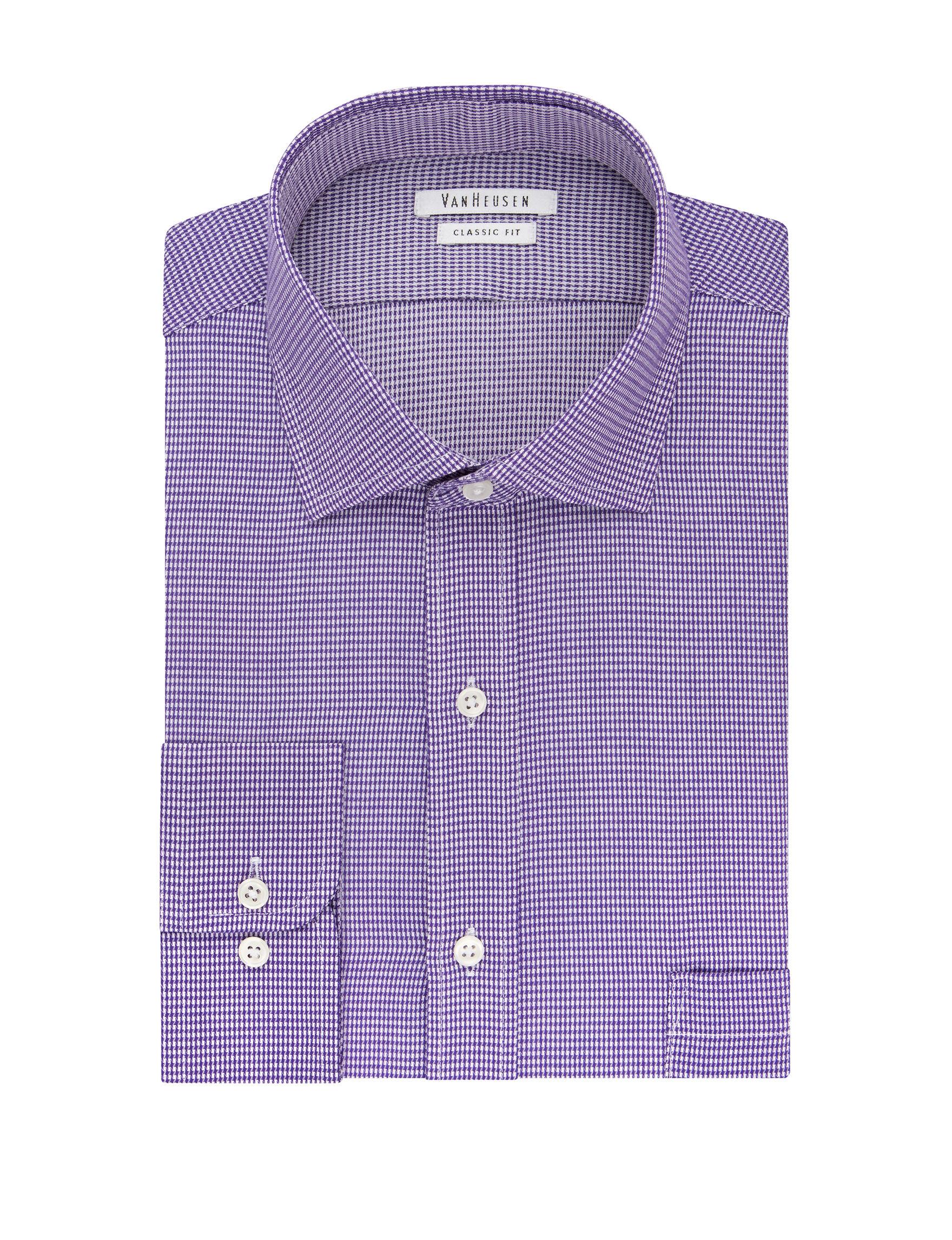 Van Heusen Lavender Dress Shirts