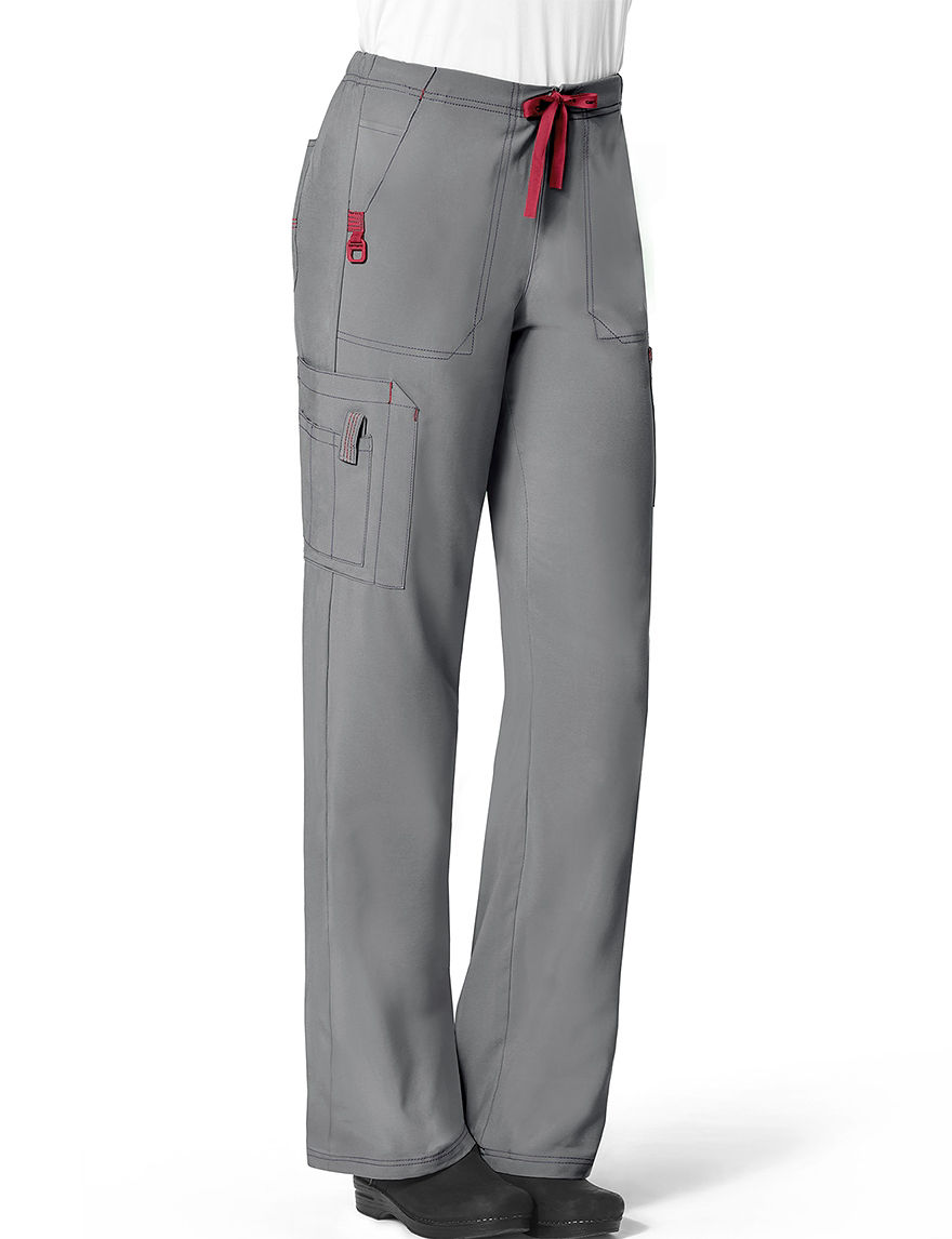 Carhartt Women's Bootcut Cargo Pants - Pewter - M - Carhartt