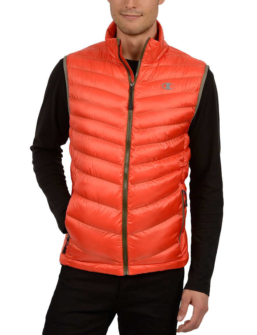Champion Orange Insulated Jackets