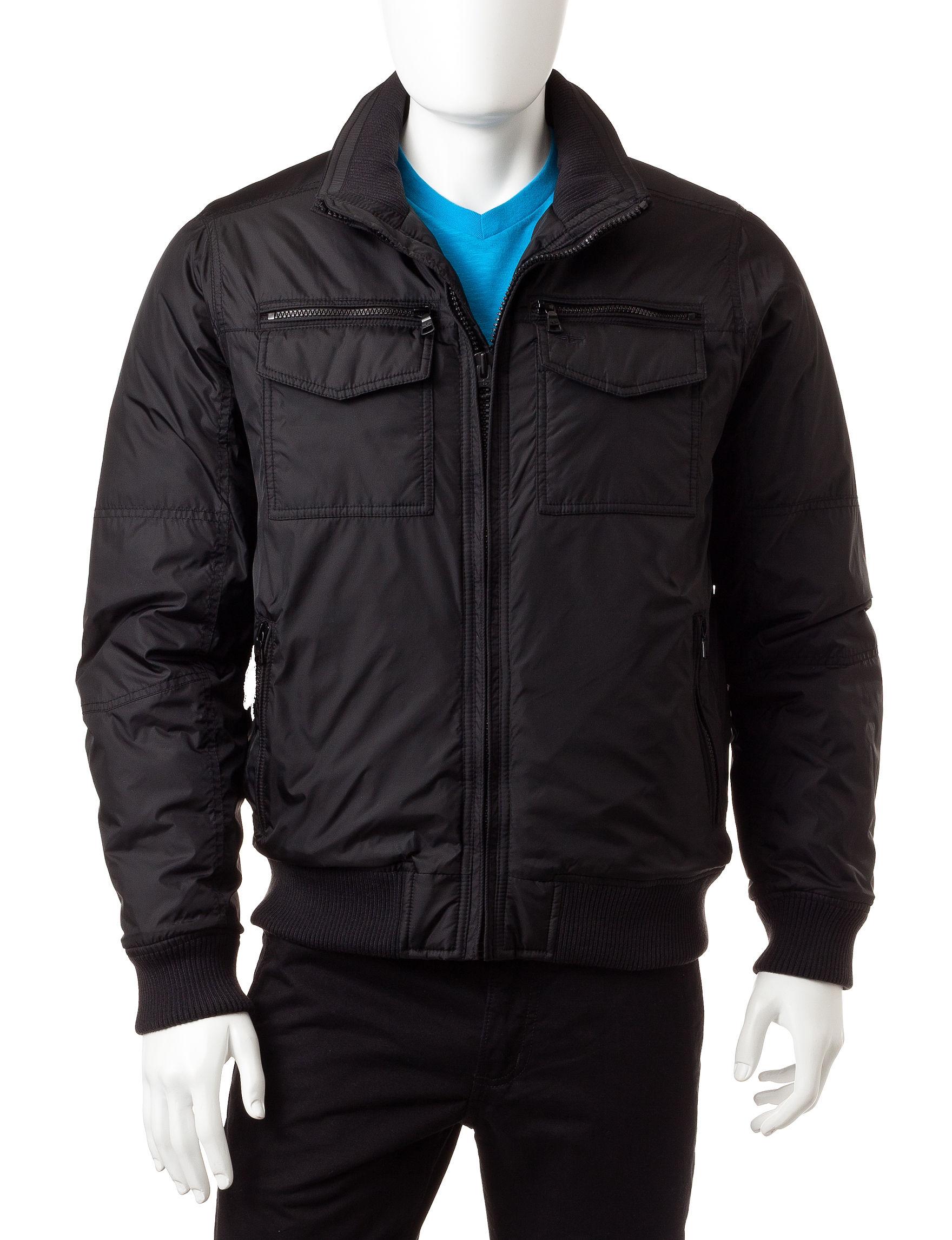 Dockers Black Fleece & Soft Shell Jackets
