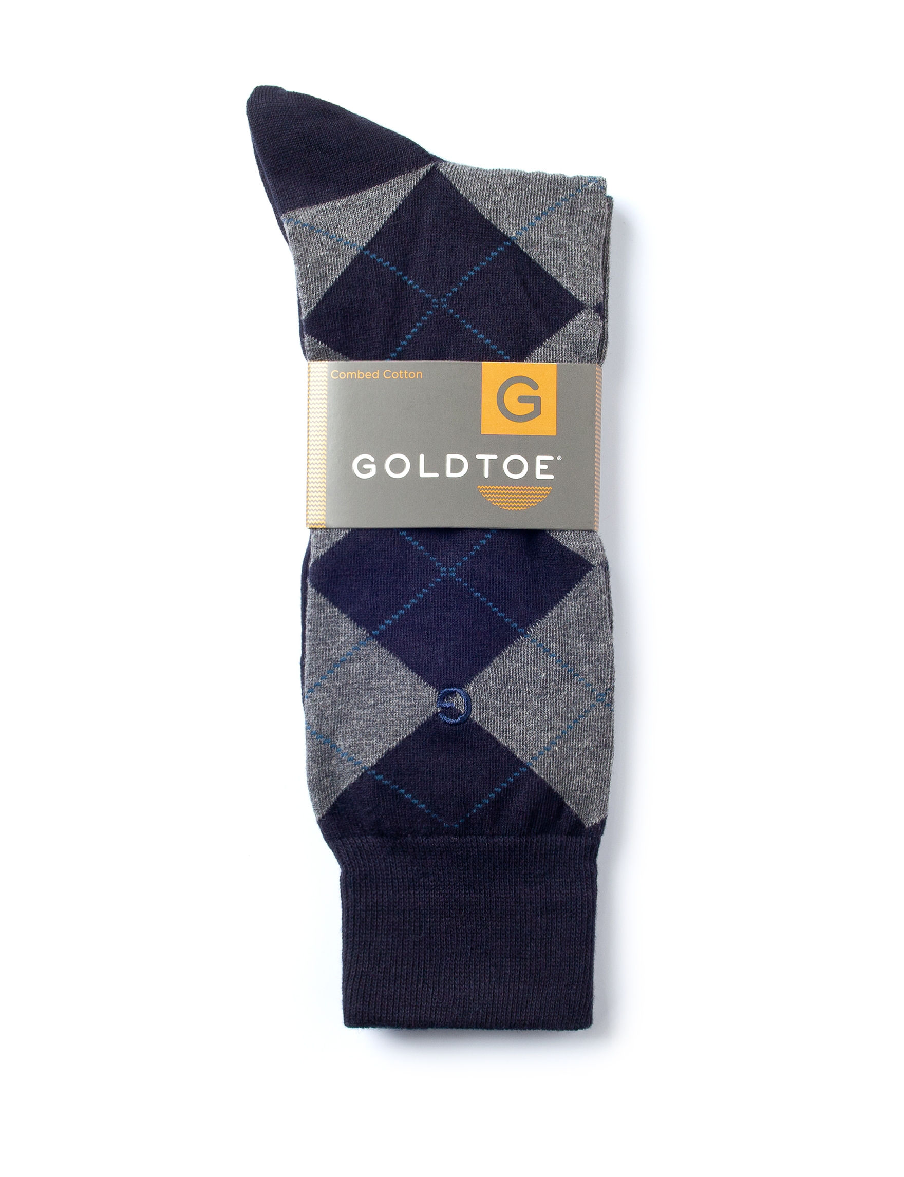 Gold Toe Navy Socks