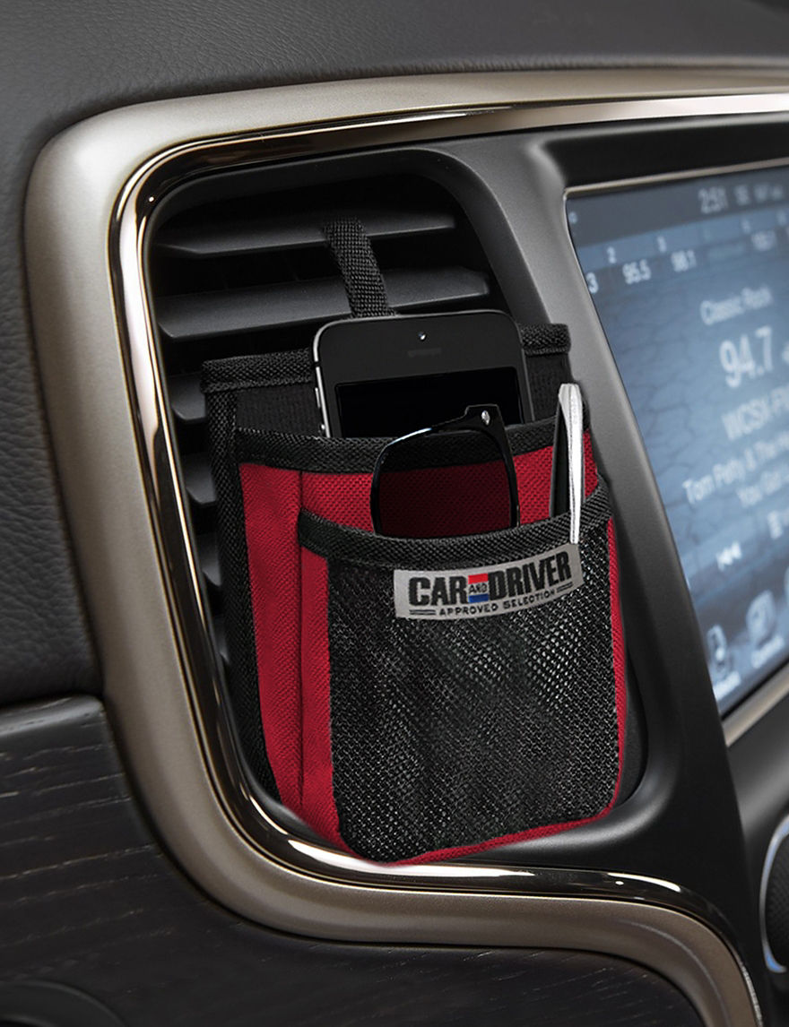 Car and Driver Red Cases & Covers Automotive Care Tech Accessories