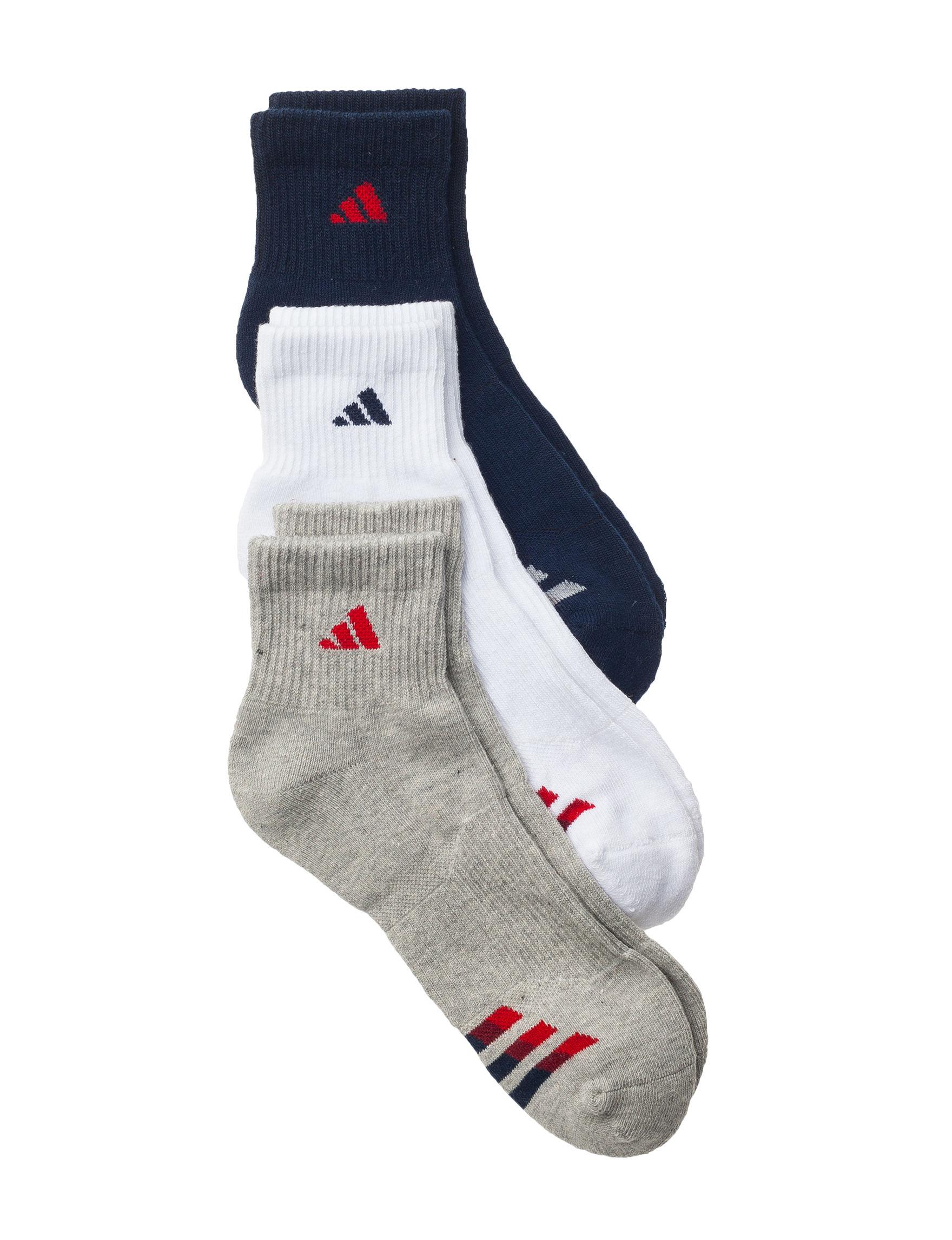 Adidas Navy Socks