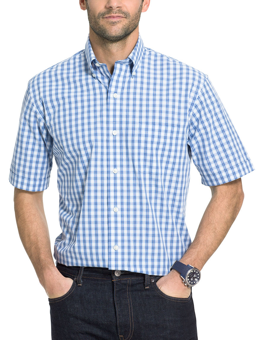 Arrow Cobalt Casual Button Down Shirts