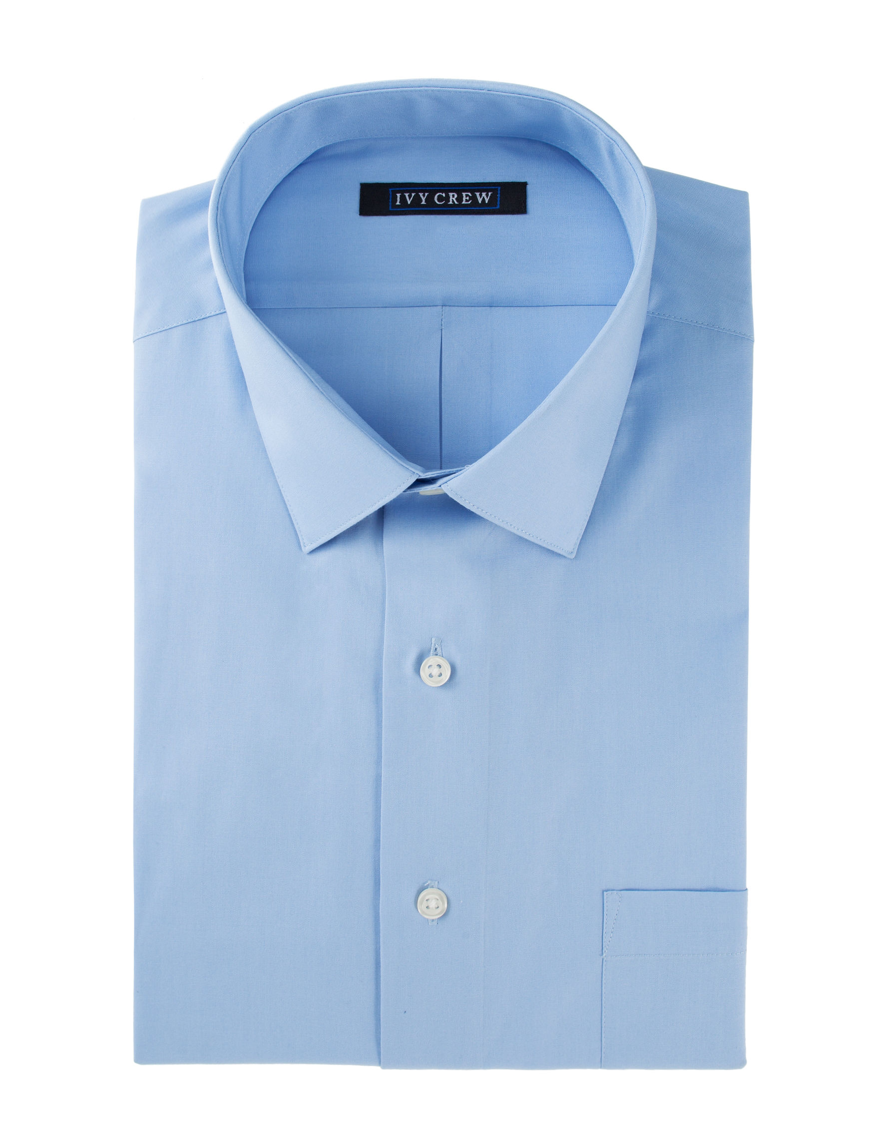 Ivy Crew Light Blue Dress Shirts