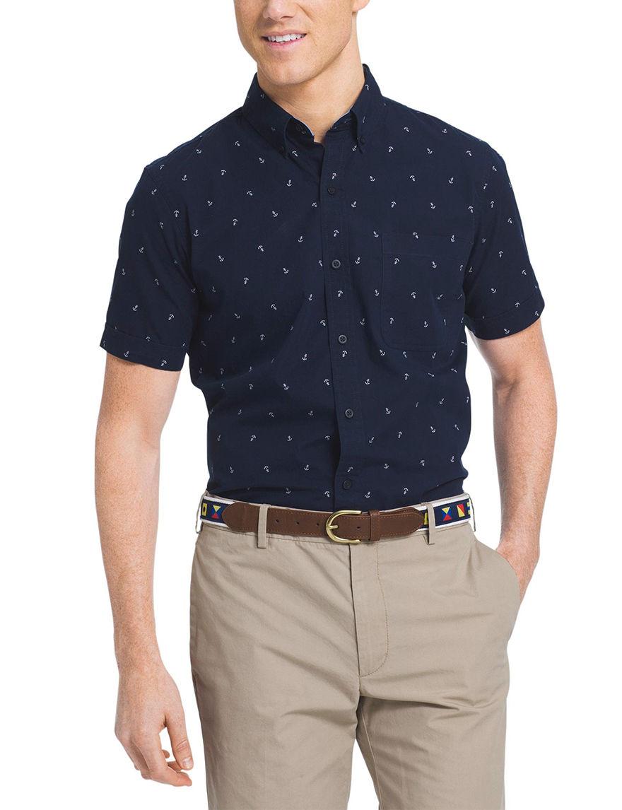 Izod Midnight Casual Button Down Shirts