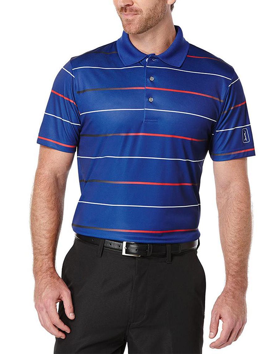 PGA TOUR Mazarine Blue Polos
