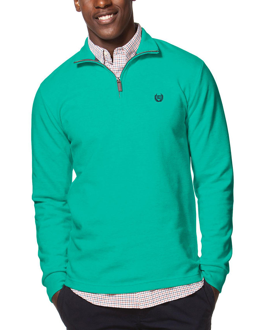Chaps Green Pull-overs