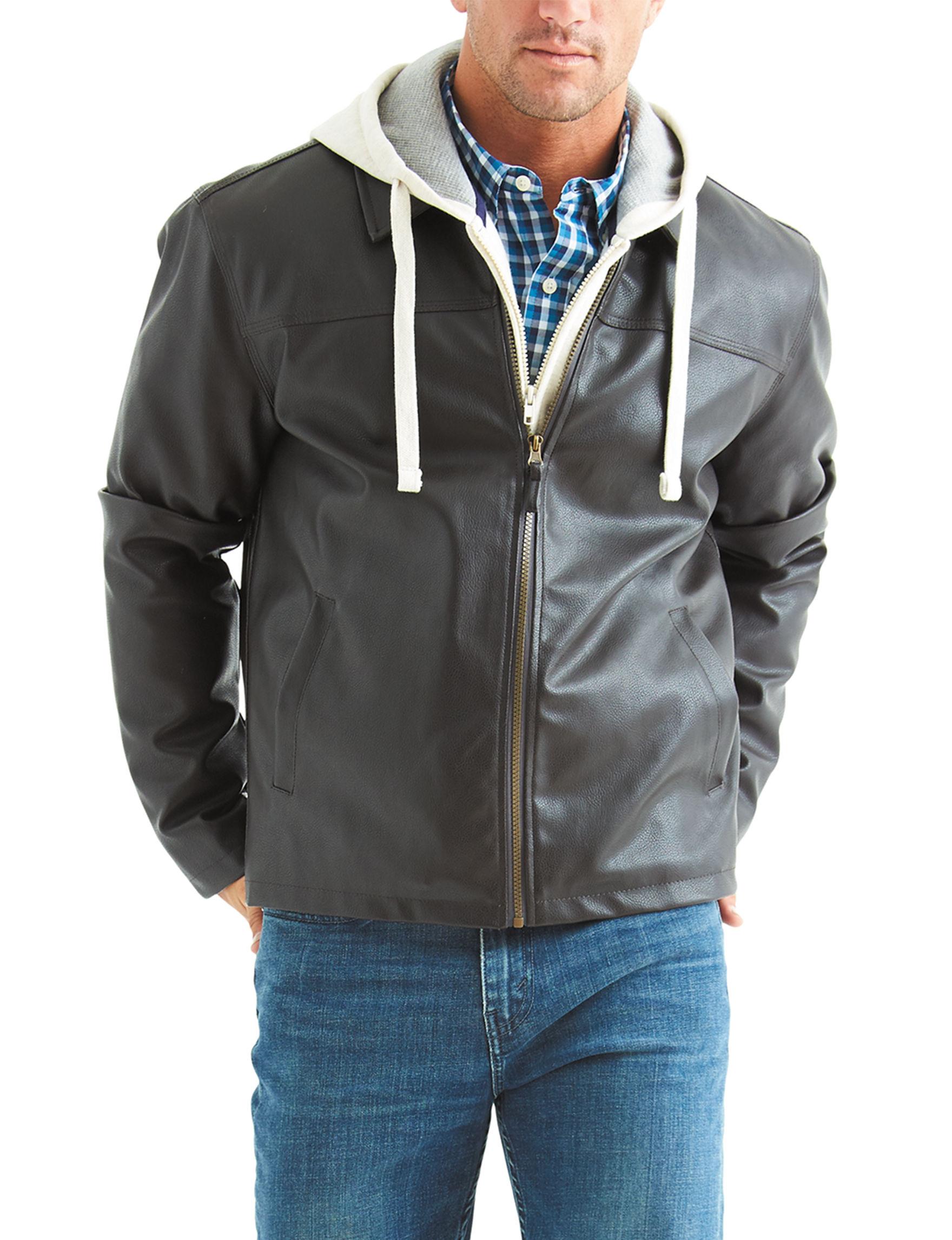 U.S. Polo Assn. Brown Lightweight Jackets & Blazers