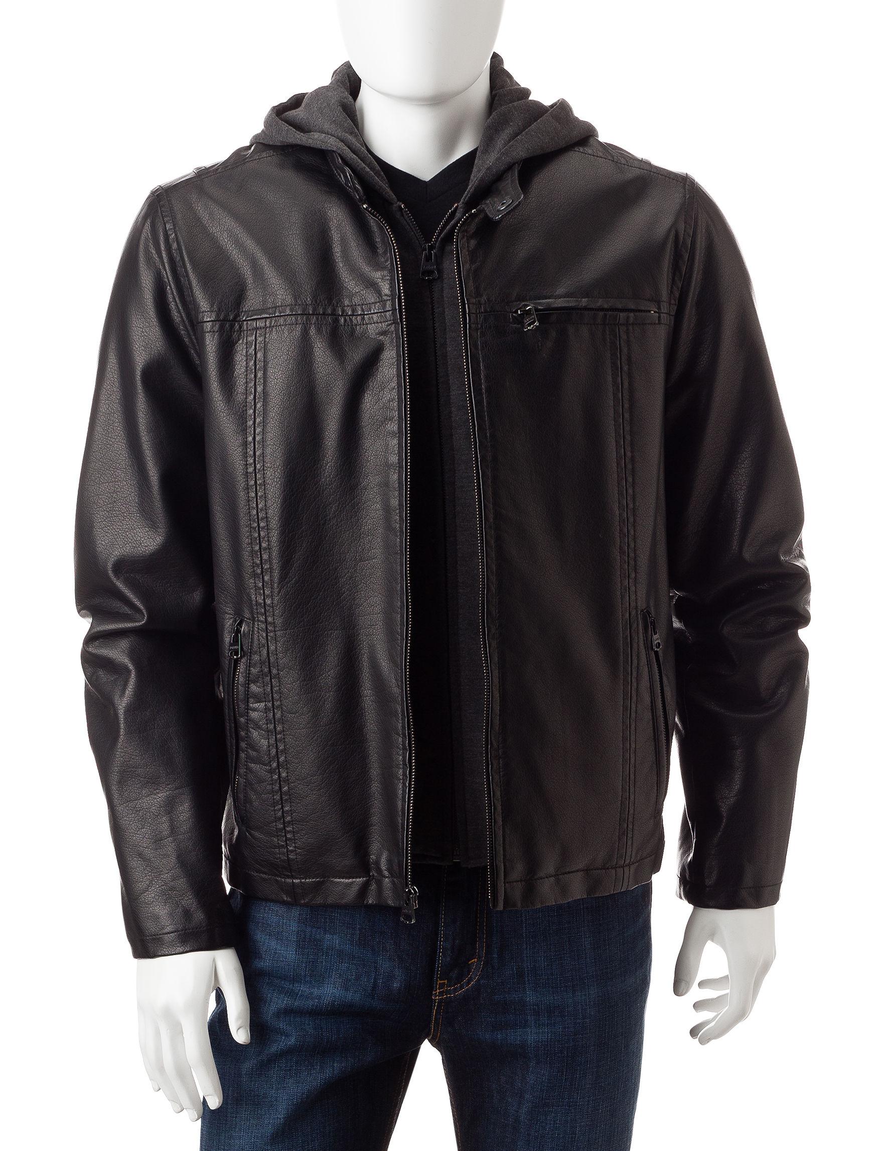 Levi's Black Lightweight Jackets & Blazers