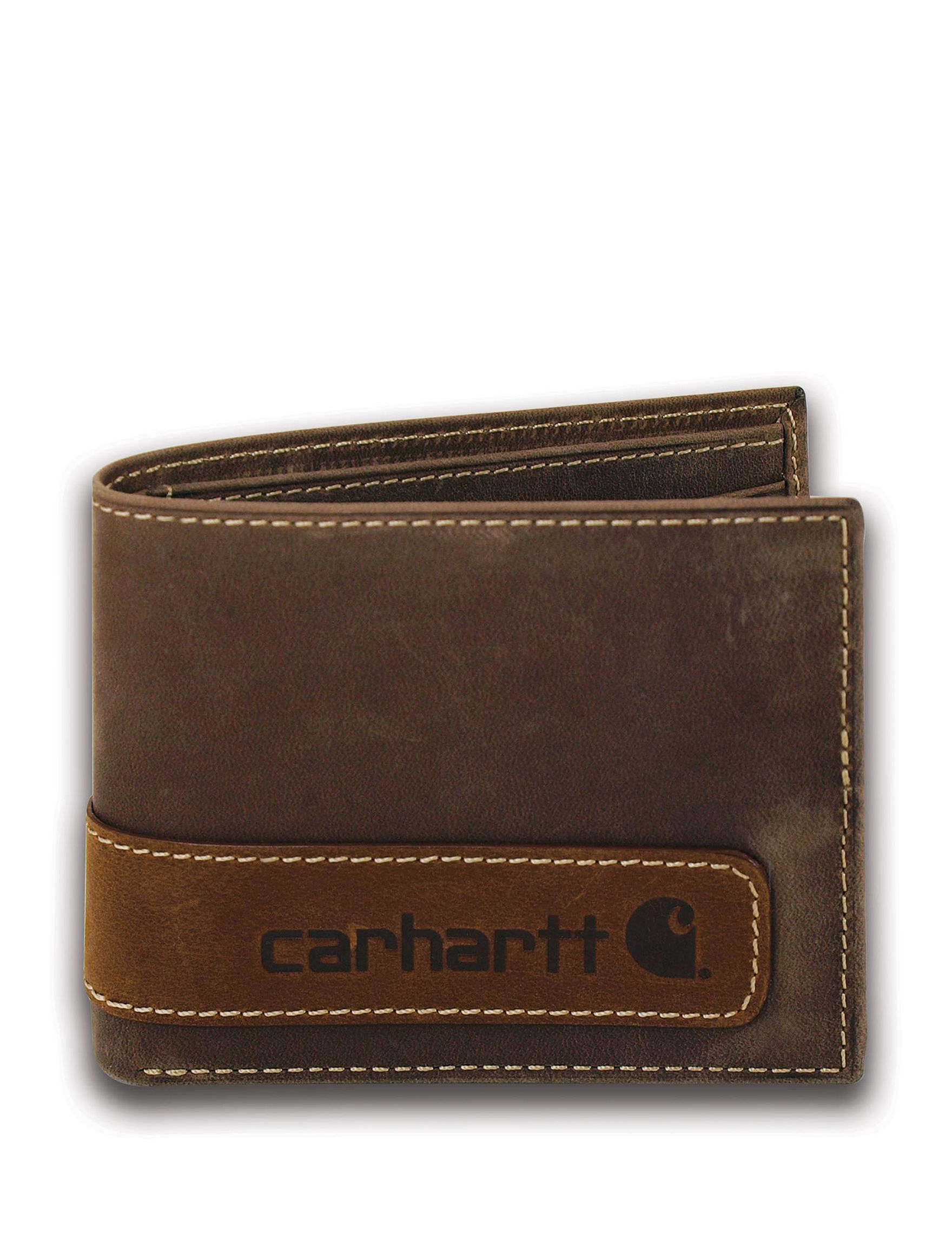 Carhartt Brown Bi-fold Wallets