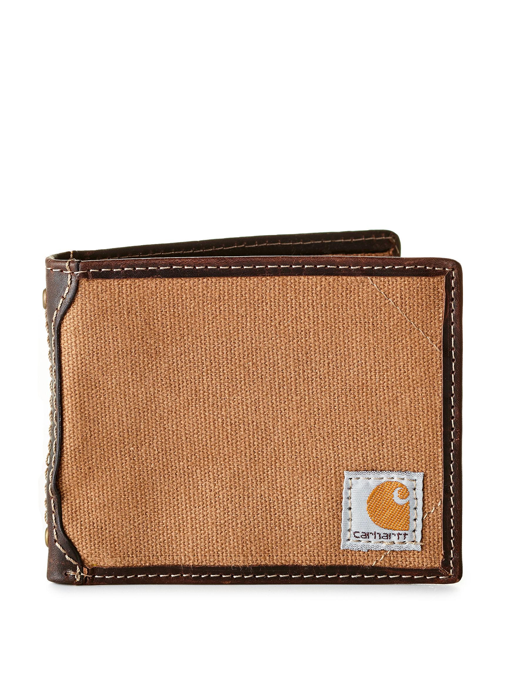 Carhartt Brown Bi-fold Wallets