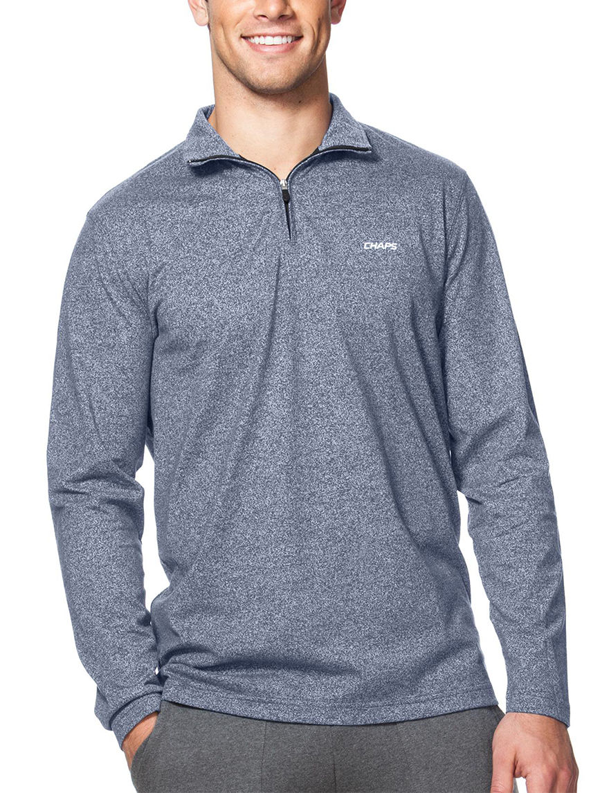 Chaps Light Blue Pull-overs