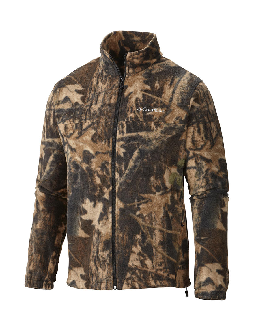 Columbia Camo Fleece & Soft Shell Jackets