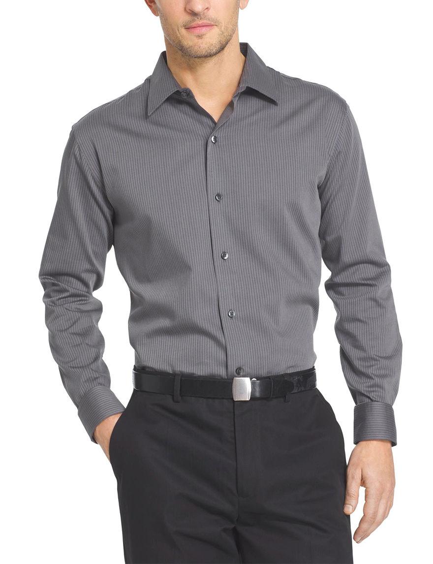69bce8fe44 Van Heusen Sateen Striped Woven Shirt