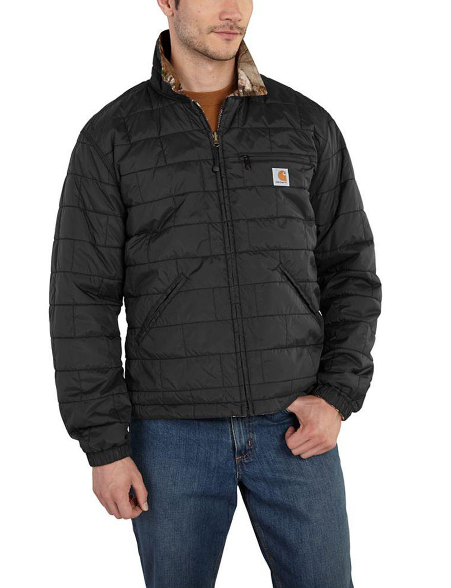 Carhartt Black Puffer & Quilted Jackets