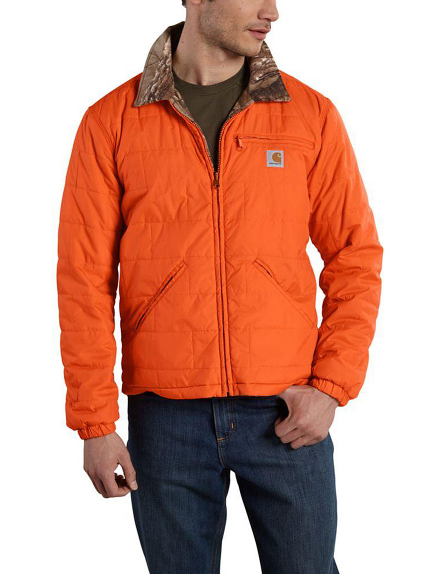 Carhartt Orange Puffer & Quilted Jackets