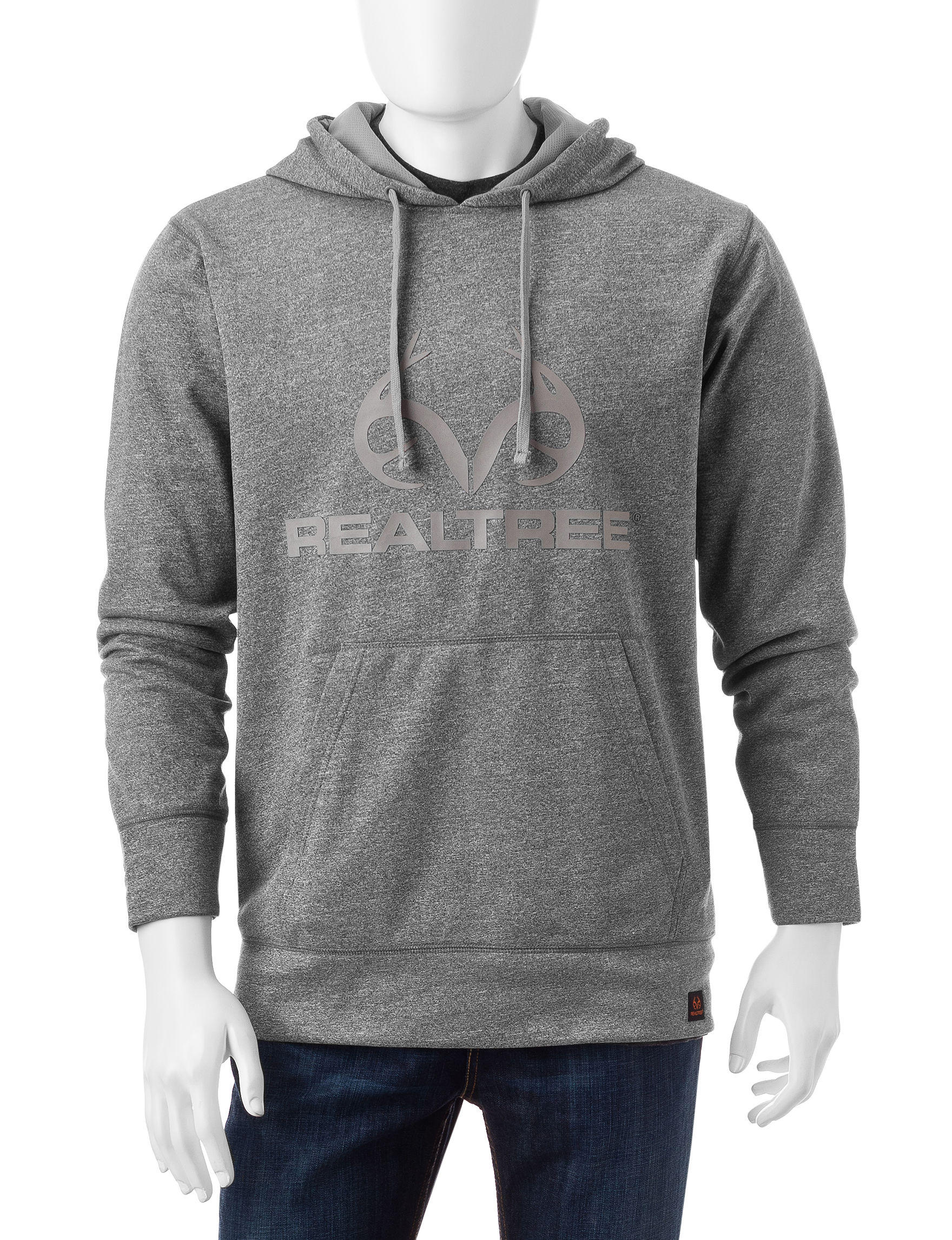 Realtree Heather Grey Pull-overs