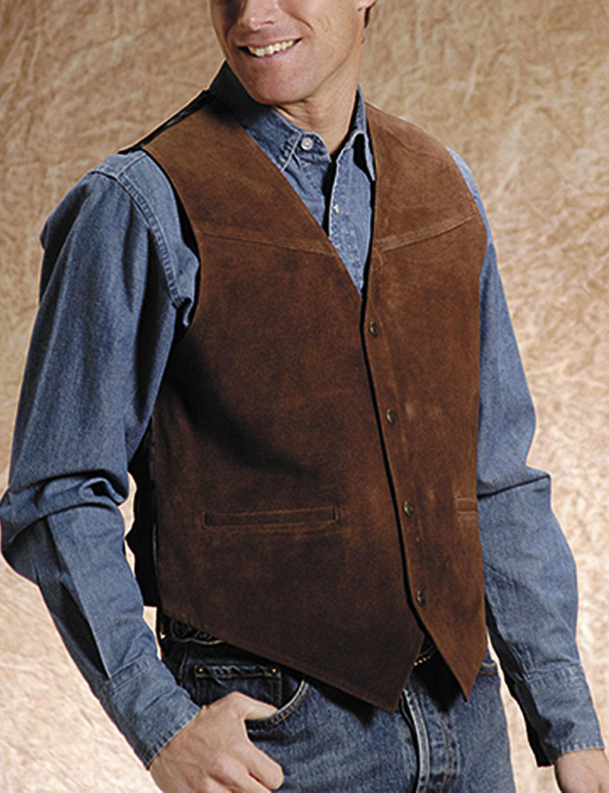 Roper Brown Vests